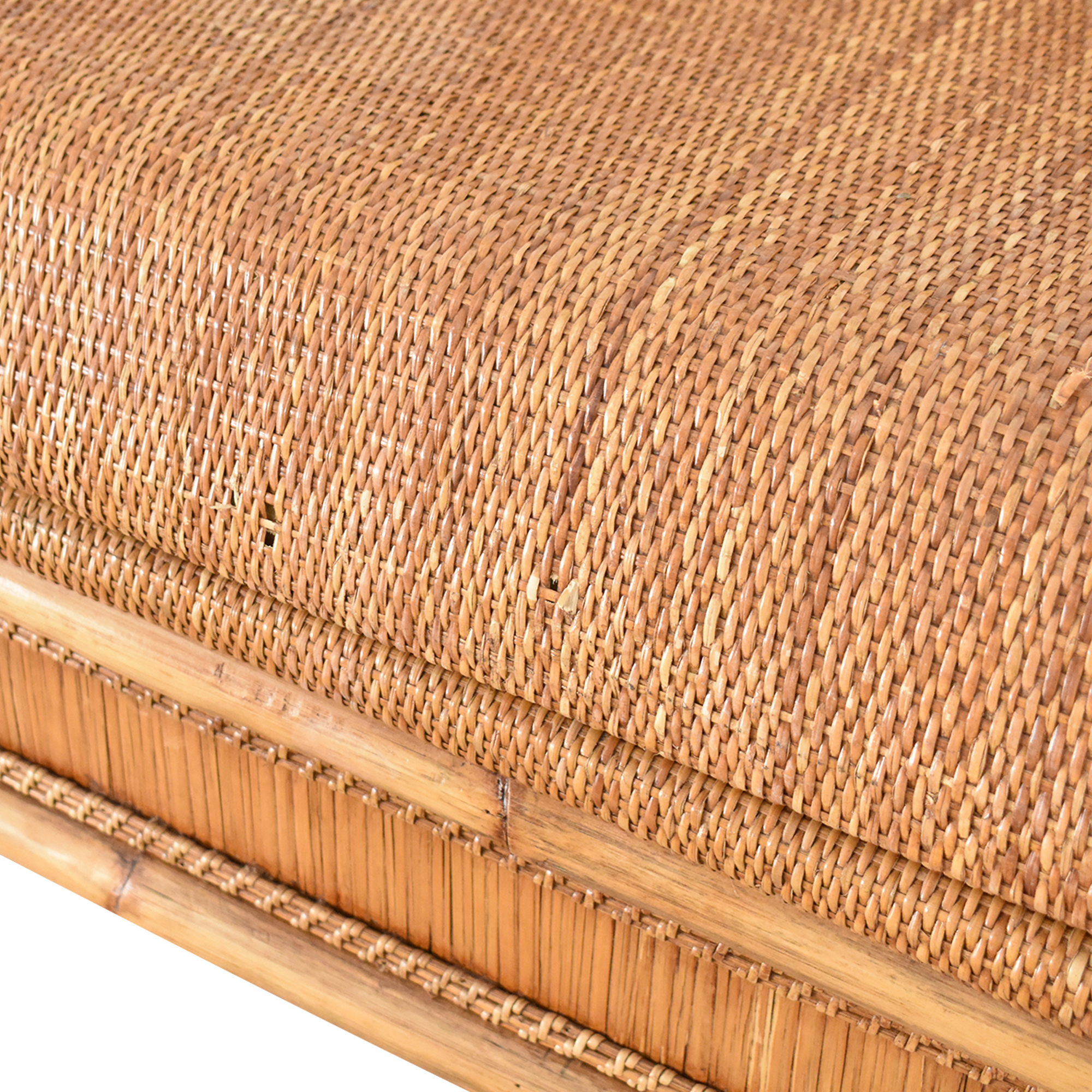 Balinese Bench-Style Loveseat second hand