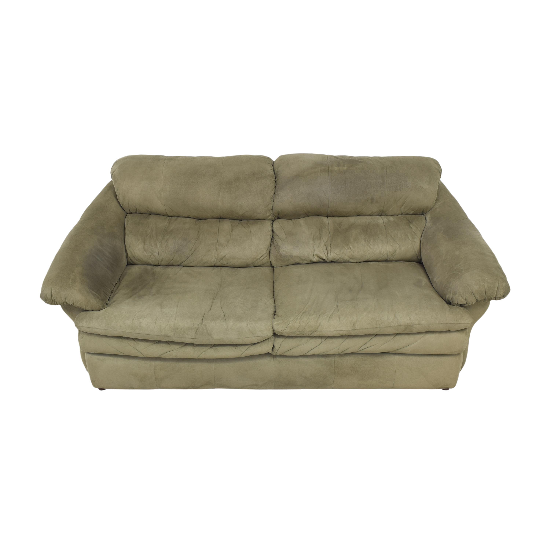 Benchcraft Benchcraft Two Cushion Sofa green
