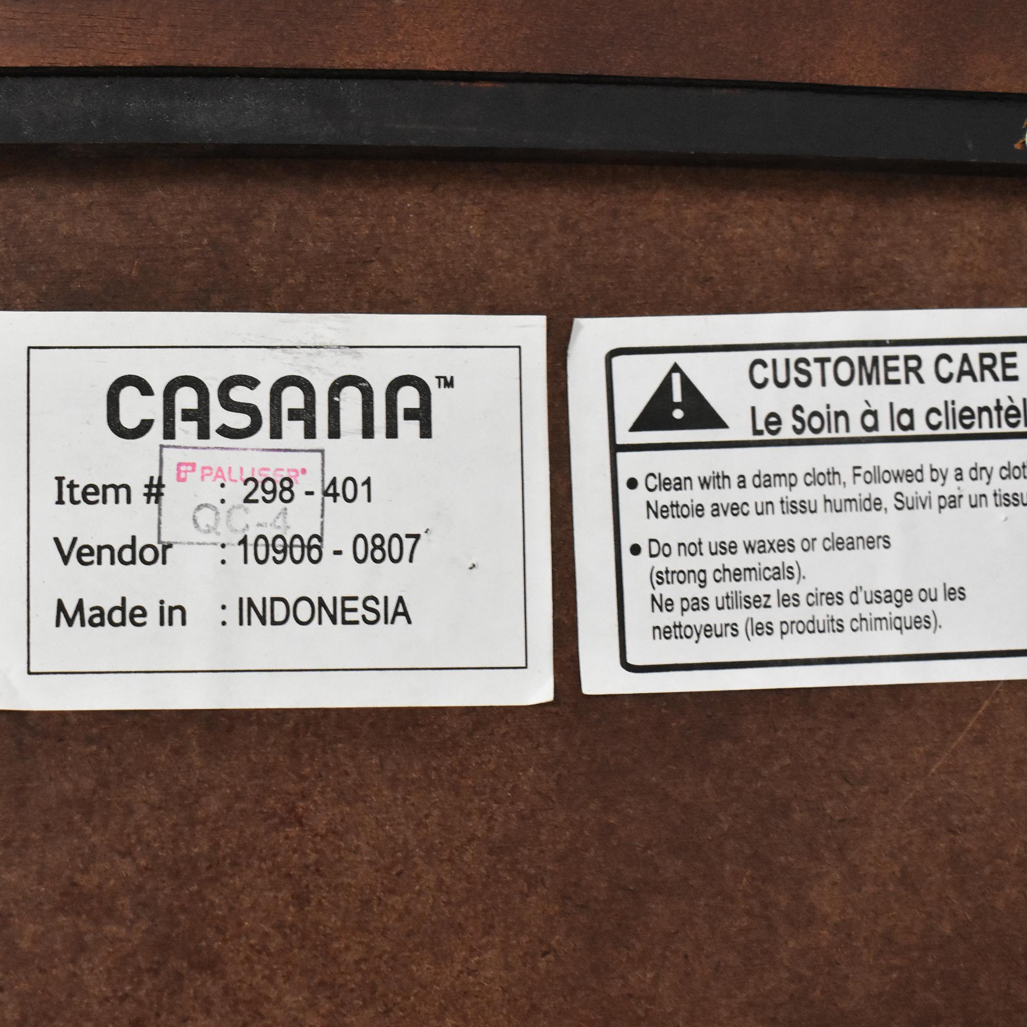 Casana Nine Drawer Dresser with Mirror / Storage