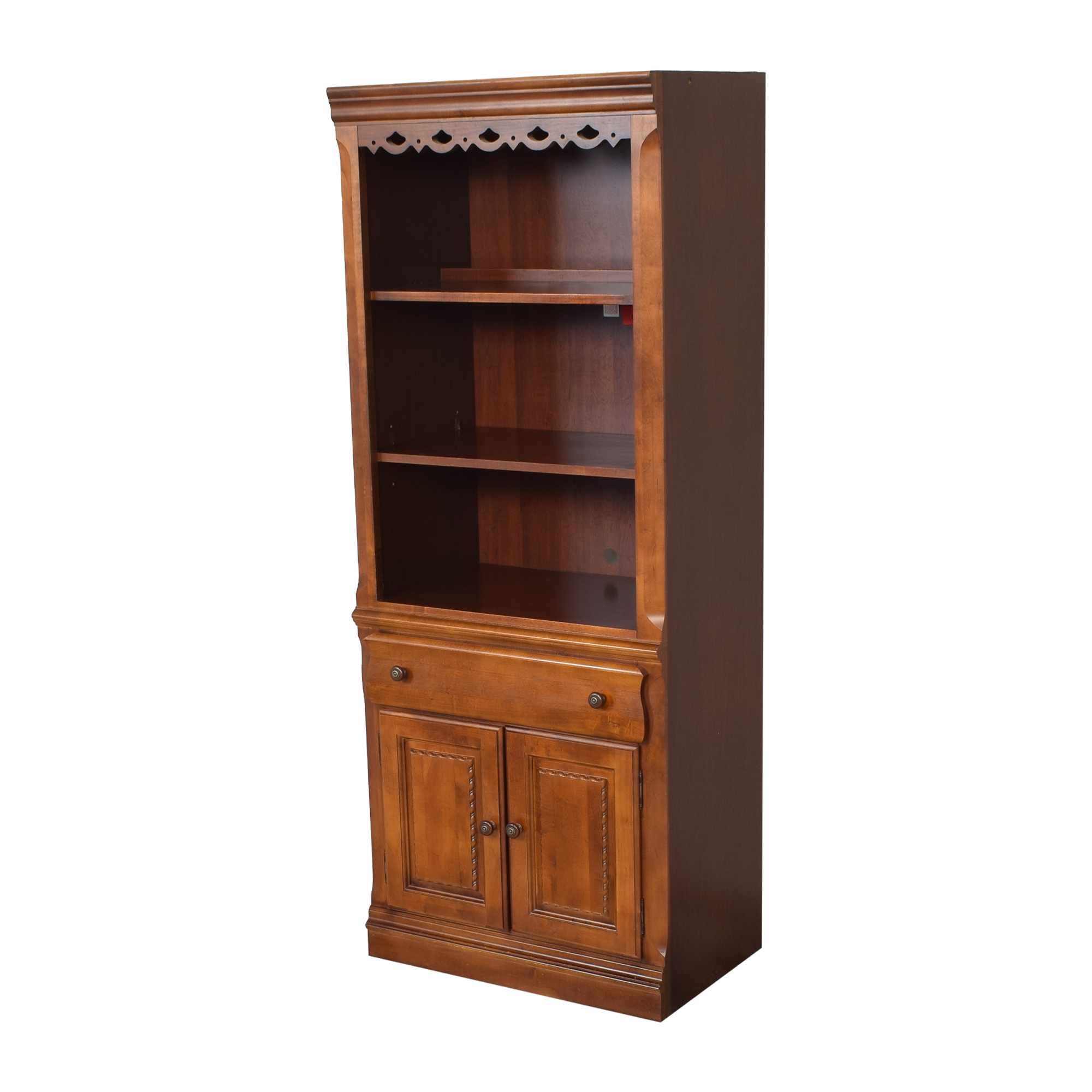 buy Broyhill Furniture Lighted Bookcase Broyhill Furniture