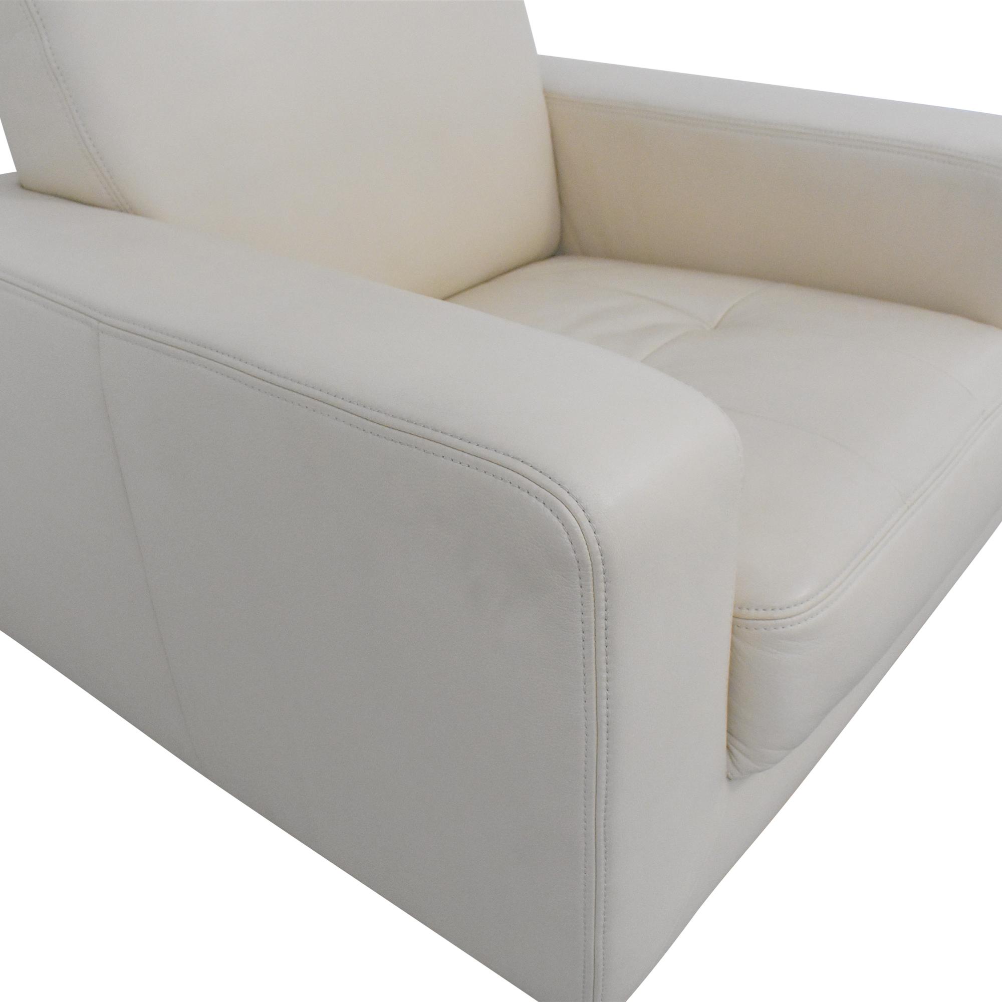 Maurice Villency Maurice Villency Bond Swivel Chair discount