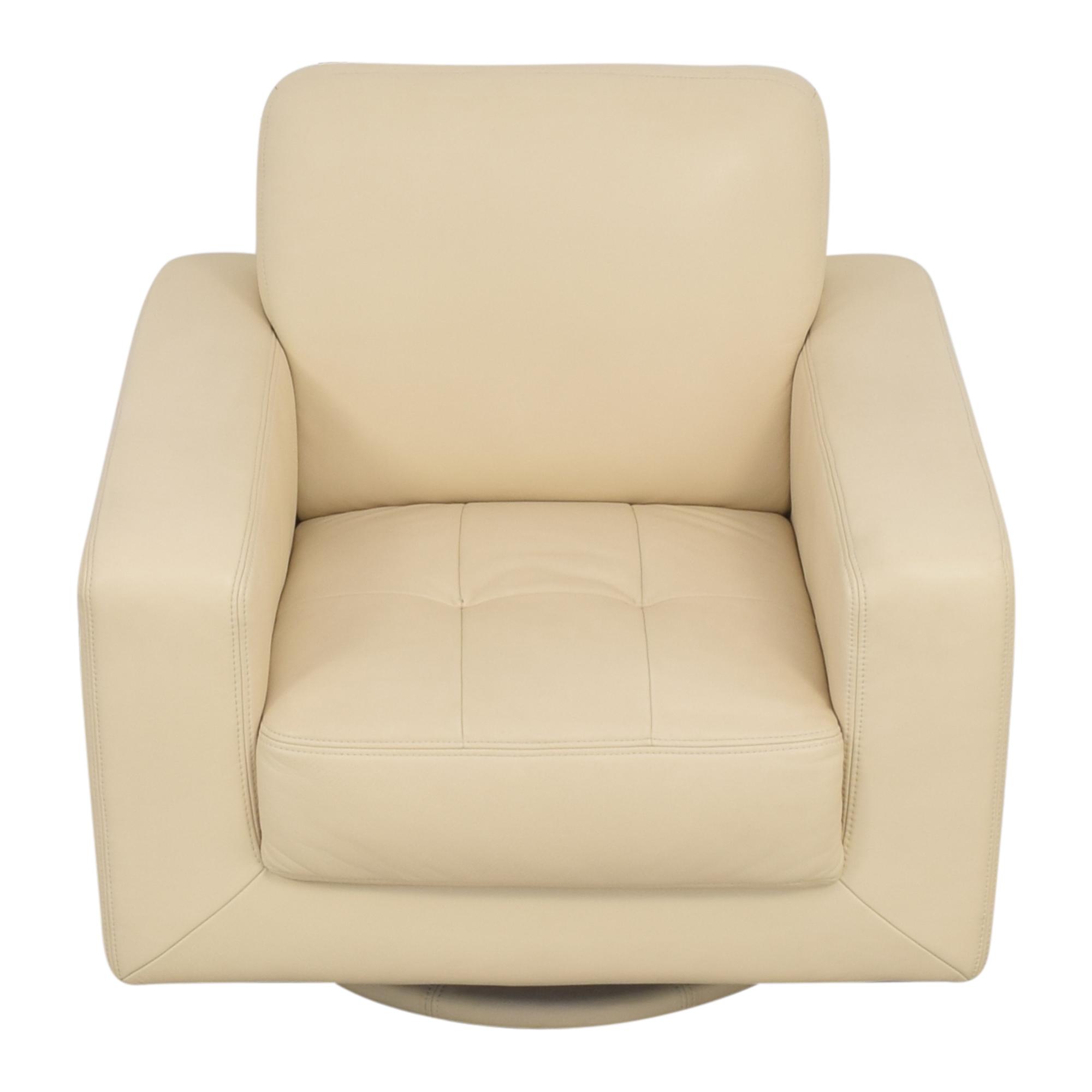 Maurice Villency Maurice Villency Bond Swivel Chair pa