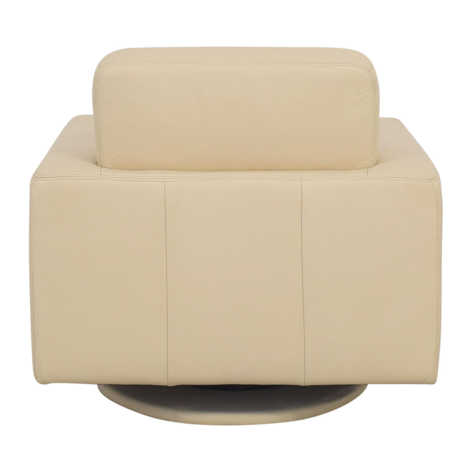 buy Maurice Villency Bond Swivel Chair Maurice Villency