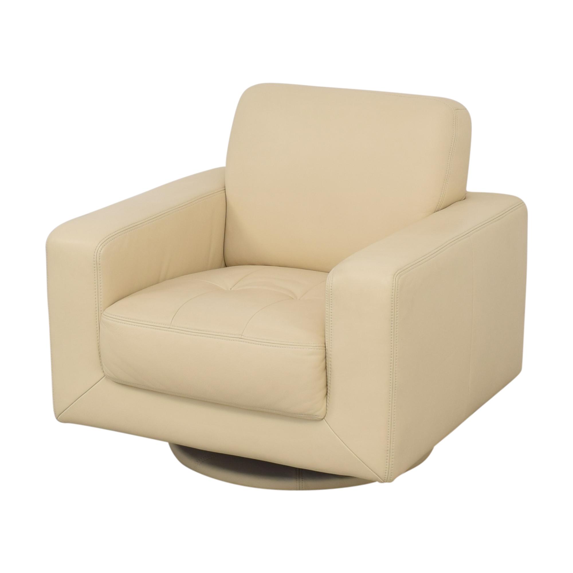 Maurice Villency Maurice Villency Bond Swivel Chair nyc
