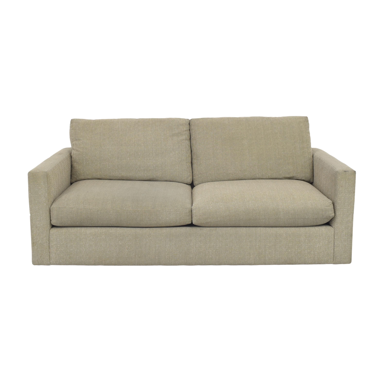 Custom Two Cushion Sofa pa