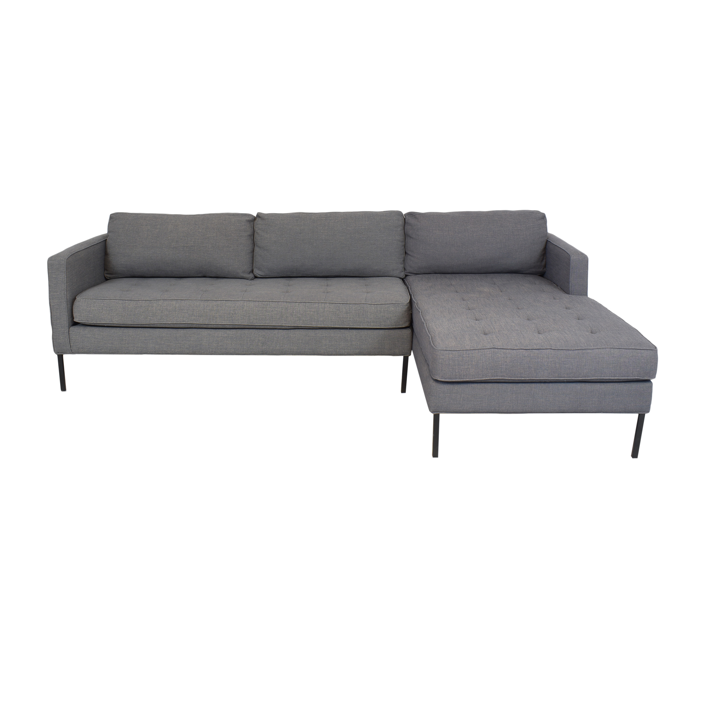 Blu Dot Blu Dot Paramount Chaise Sectional Sofa used