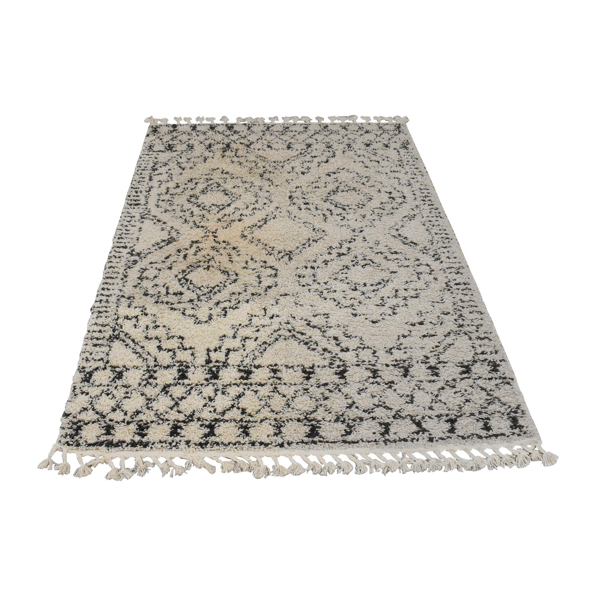 nuLOOM Diana Vasiliki Moroccan Tribal Tassel Rug / Rugs