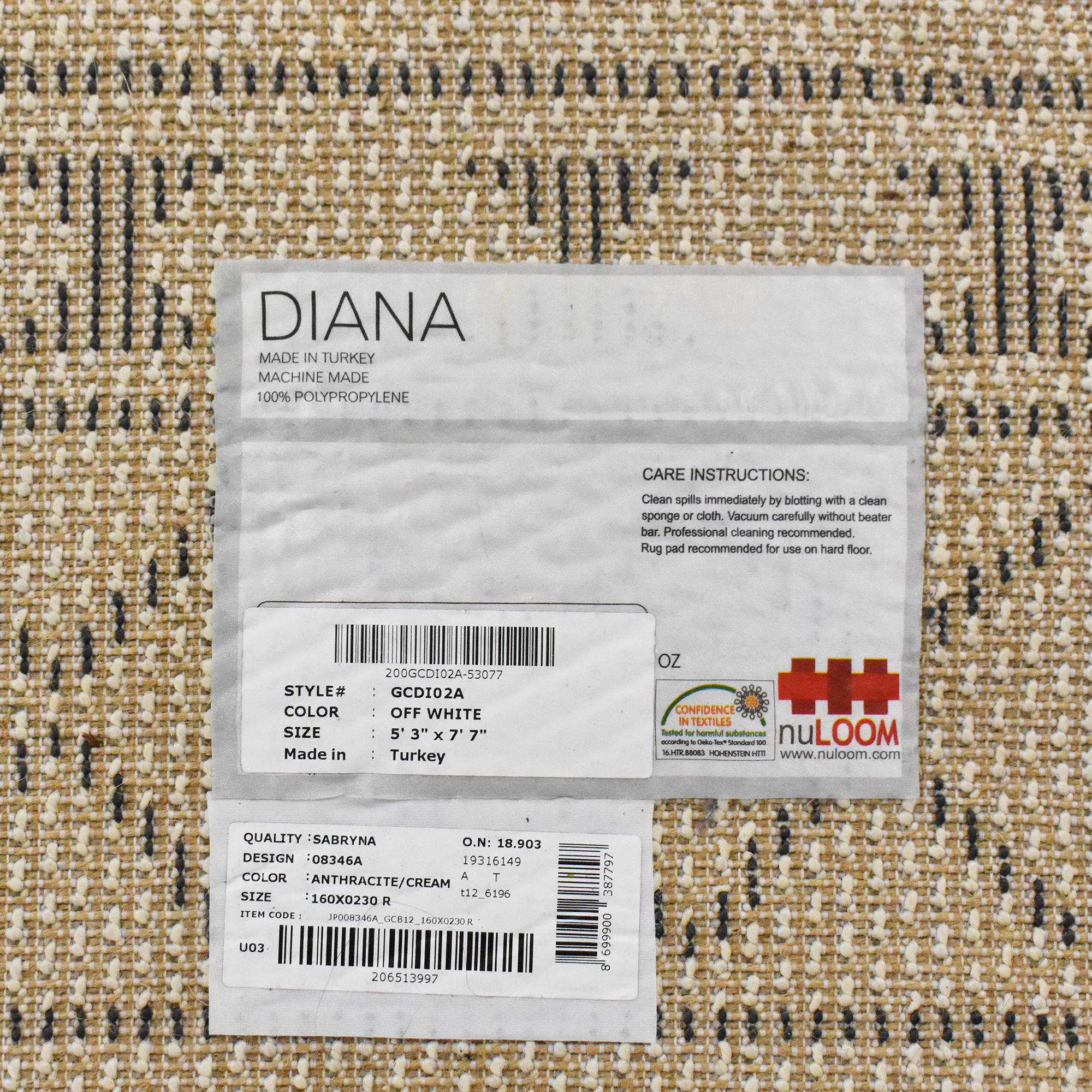 nuLOOM nuLOOM Diana Vasiliki Moroccan Tribal Tassel Rug coupon