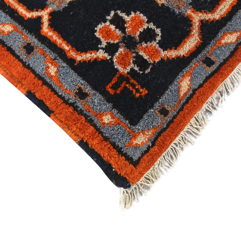Afghan Kazak Style Area Rug second hand