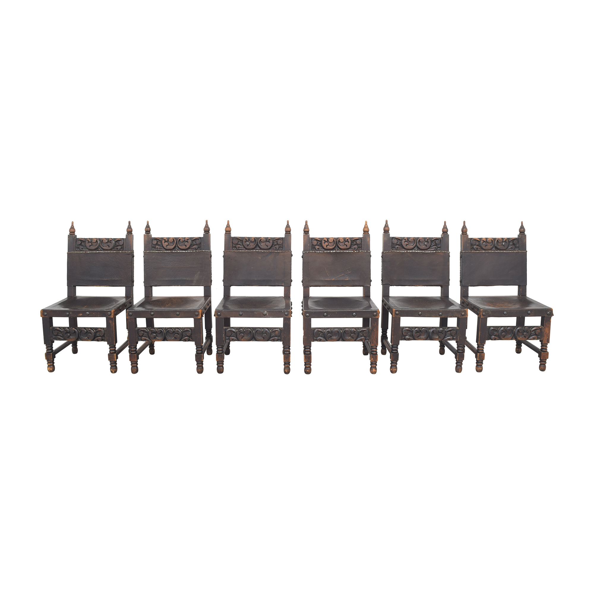Carved Mexican Dining Chairs ct