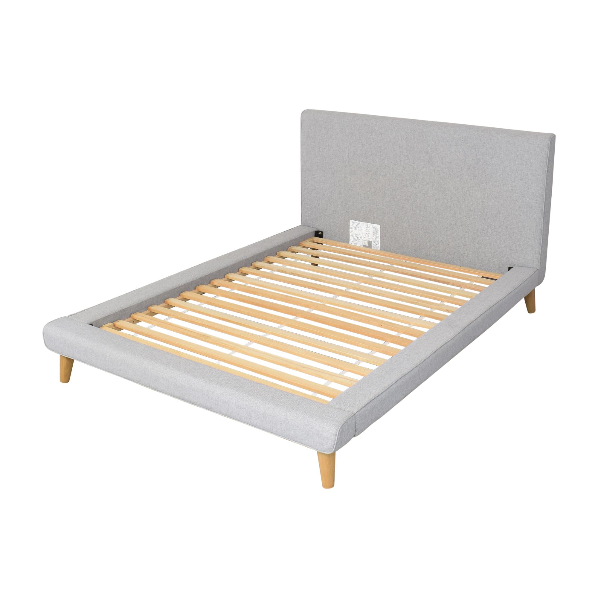 West Elm West Elm Mod Upholstered Full Platform Bed nj