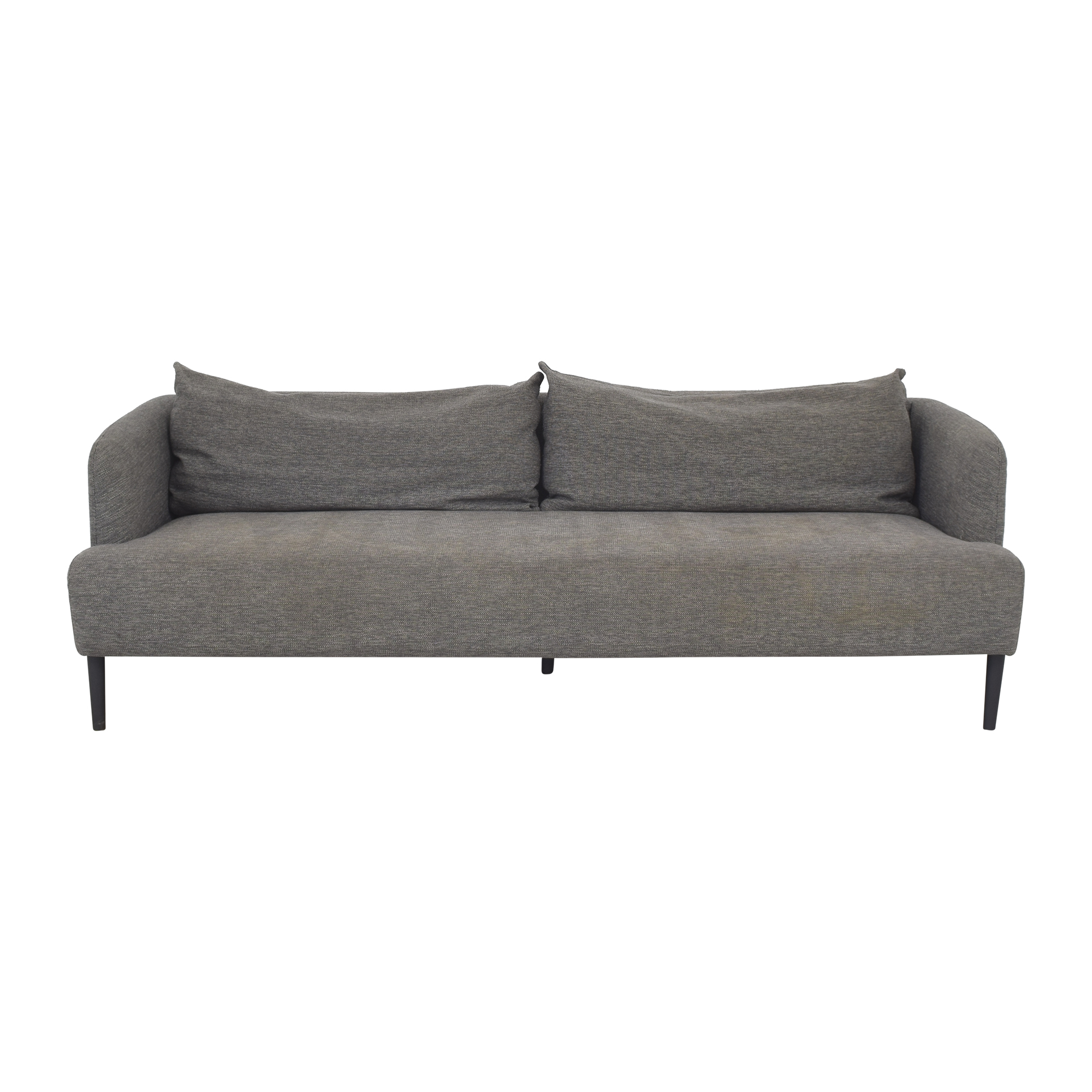 CB2 Ronan Bench Cushion Sofa sale