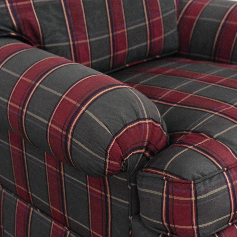 Kravet Plaid Accent Chair / Chairs