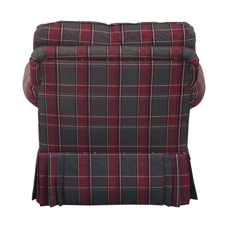 shop Kravet Plaid Accent Chair Kravet Accent Chairs
