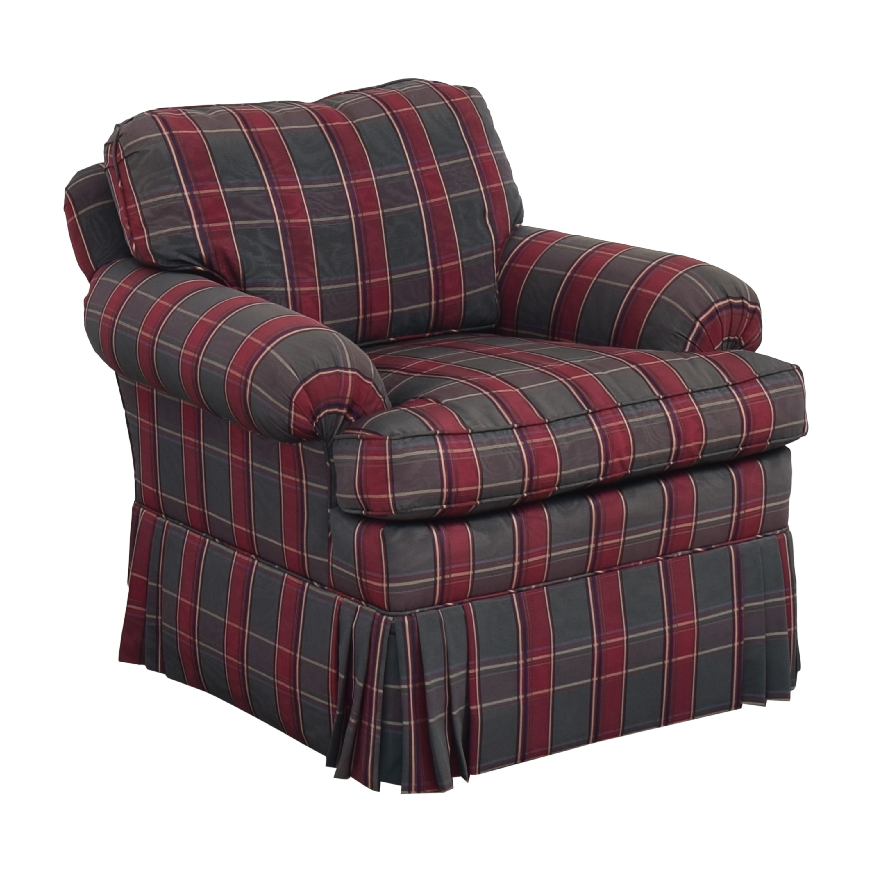 Kravet Kravet Plaid Accent Chair nj