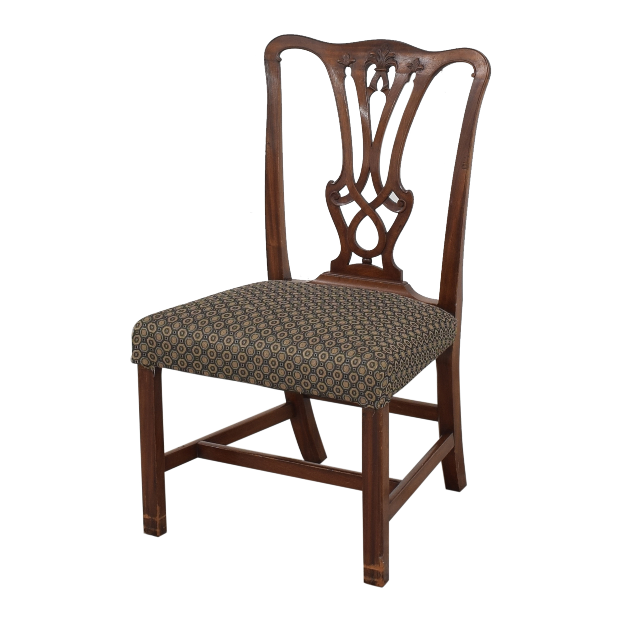 Carved Back Upholstered Dining Chairs nj