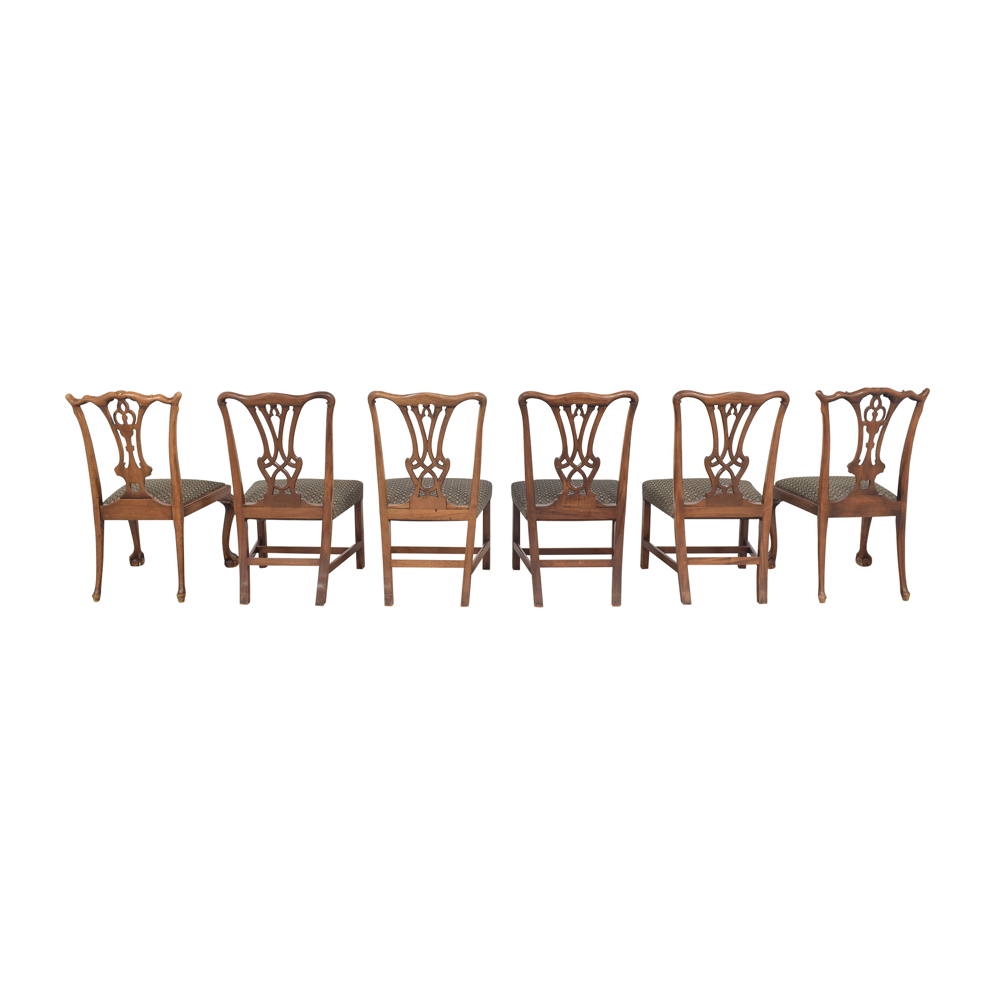 shop Carved Back Upholstered Dining Chairs  Chairs