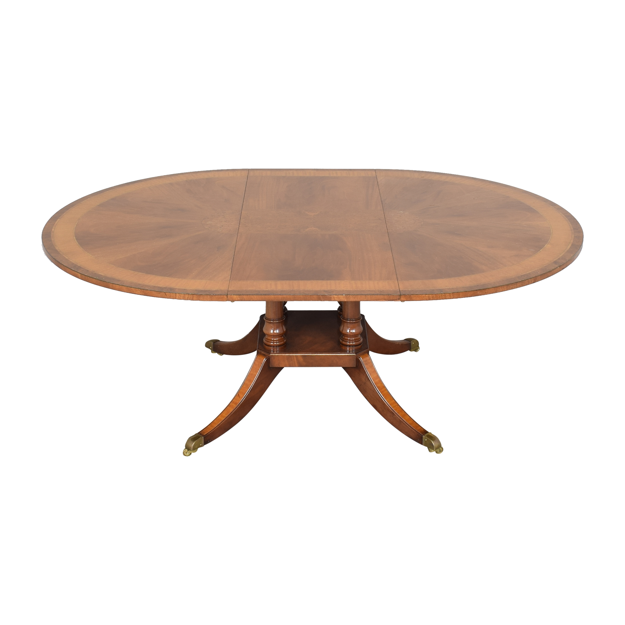 Round Extendable Dining Table coupon