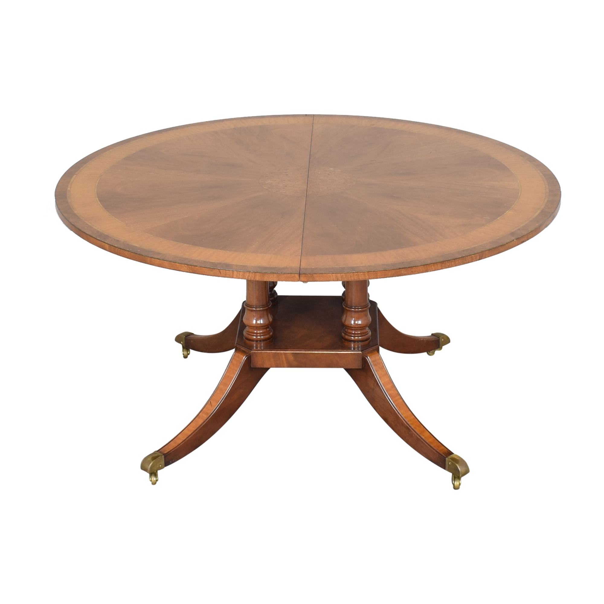 Round Extendable Dining Table Dinner Tables