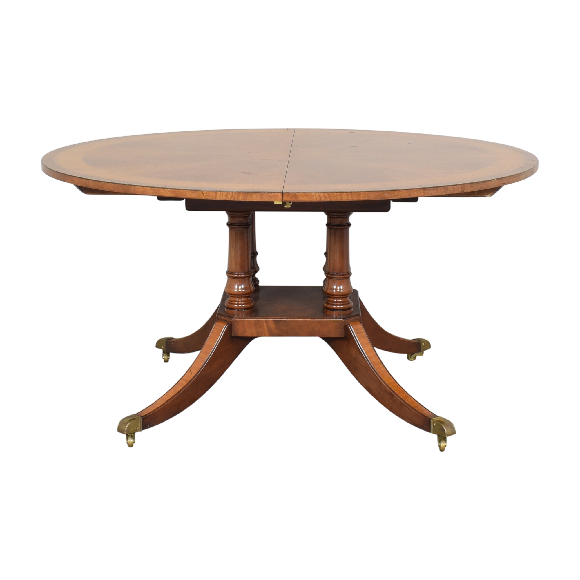 Round Extendable Dining Table / Dinner Tables