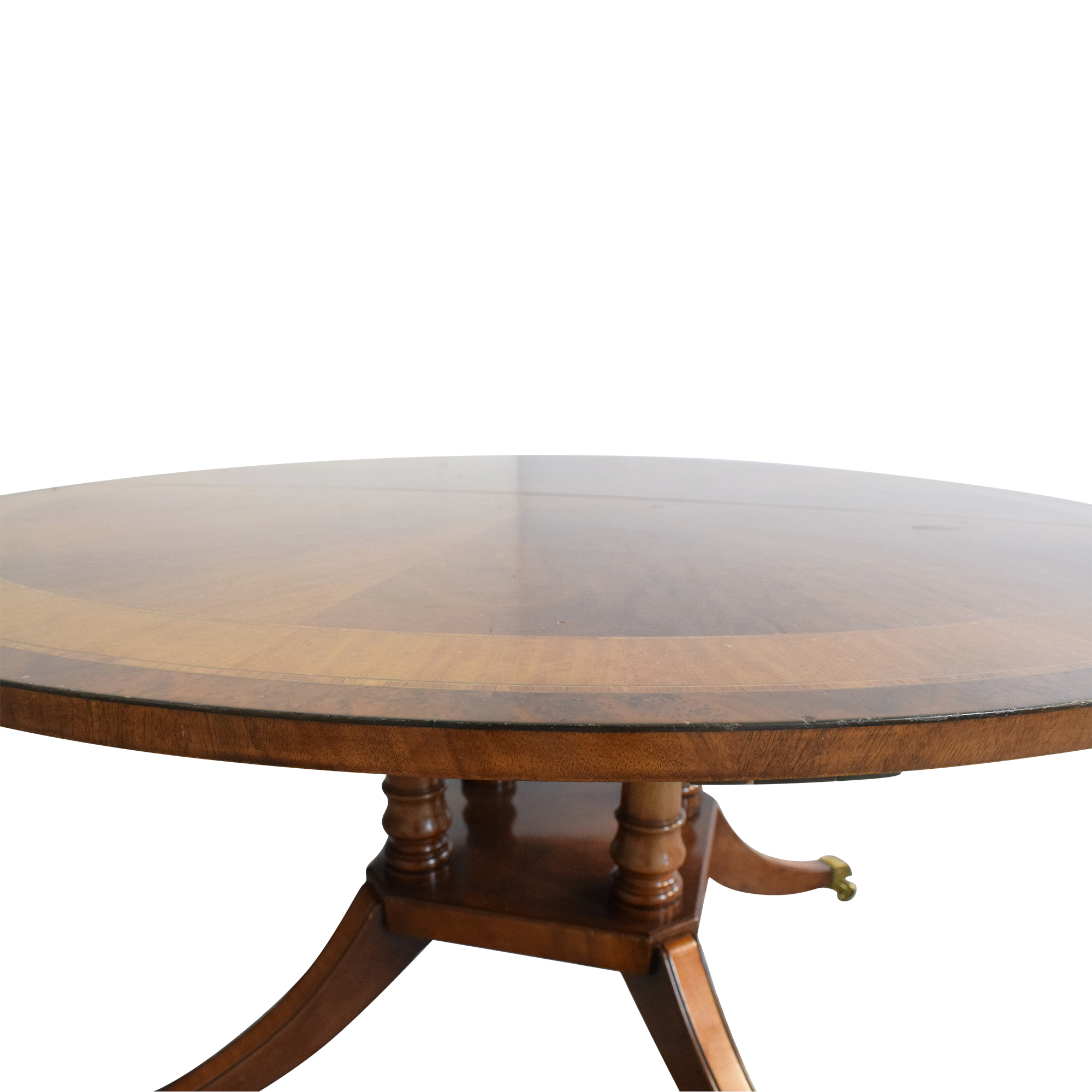 Round Extendable Dining Table / Tables