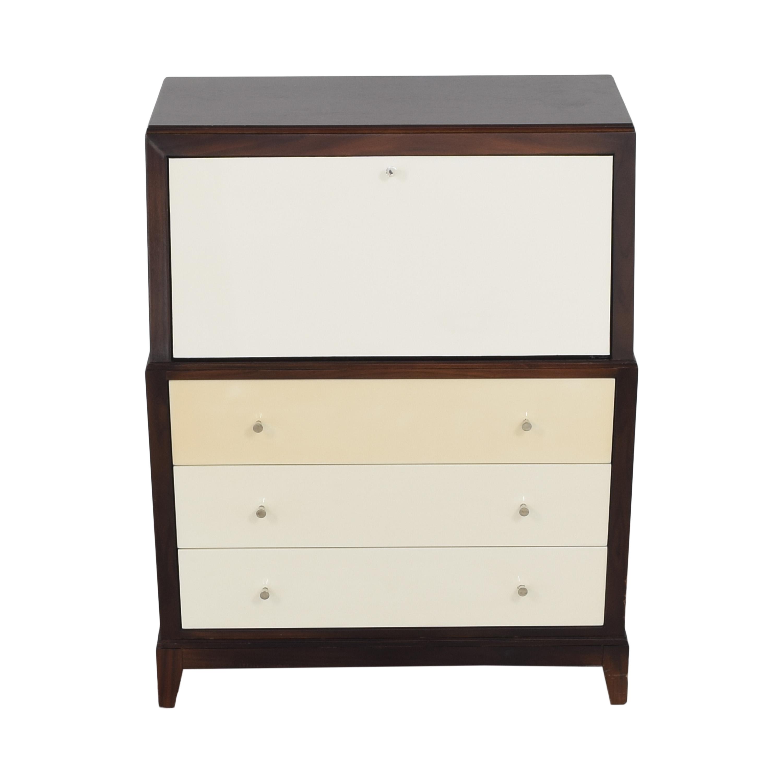 buy Mitchell Gold + Bob Williams Huxley Secretary Desk Mitchell Gold + Bob Williams Dressers