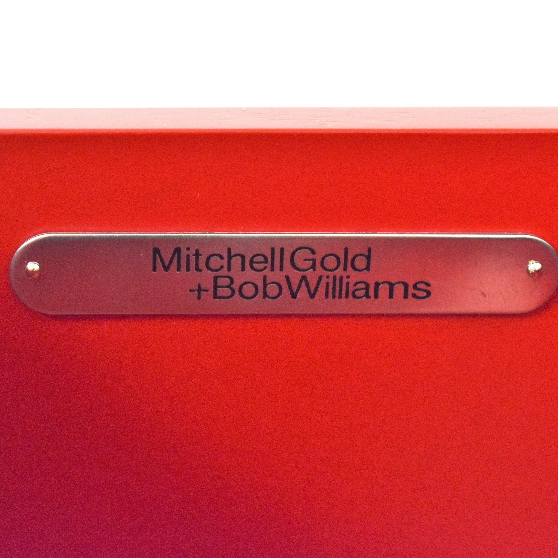 Mitchell Gold + Bob Williams Mitchell Gold + Bob Williams Huxley Secretary Desk white and dark brown