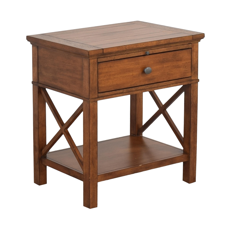 buy Ethan Allen Ethan Allen Alec X Night Table with Desk Extension online