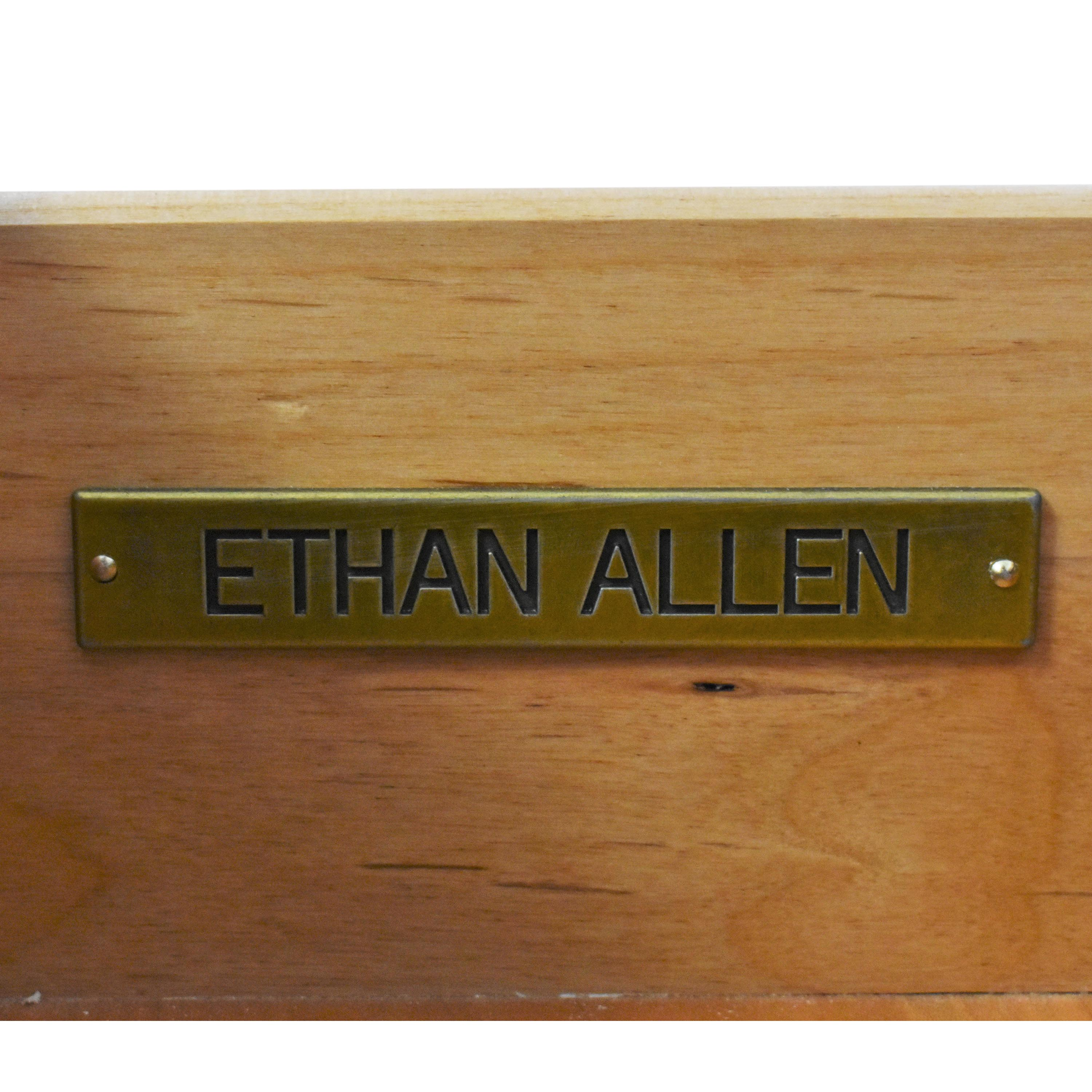 Ethan Allen Alec X Night Table with Desk Extension Ethan Allen