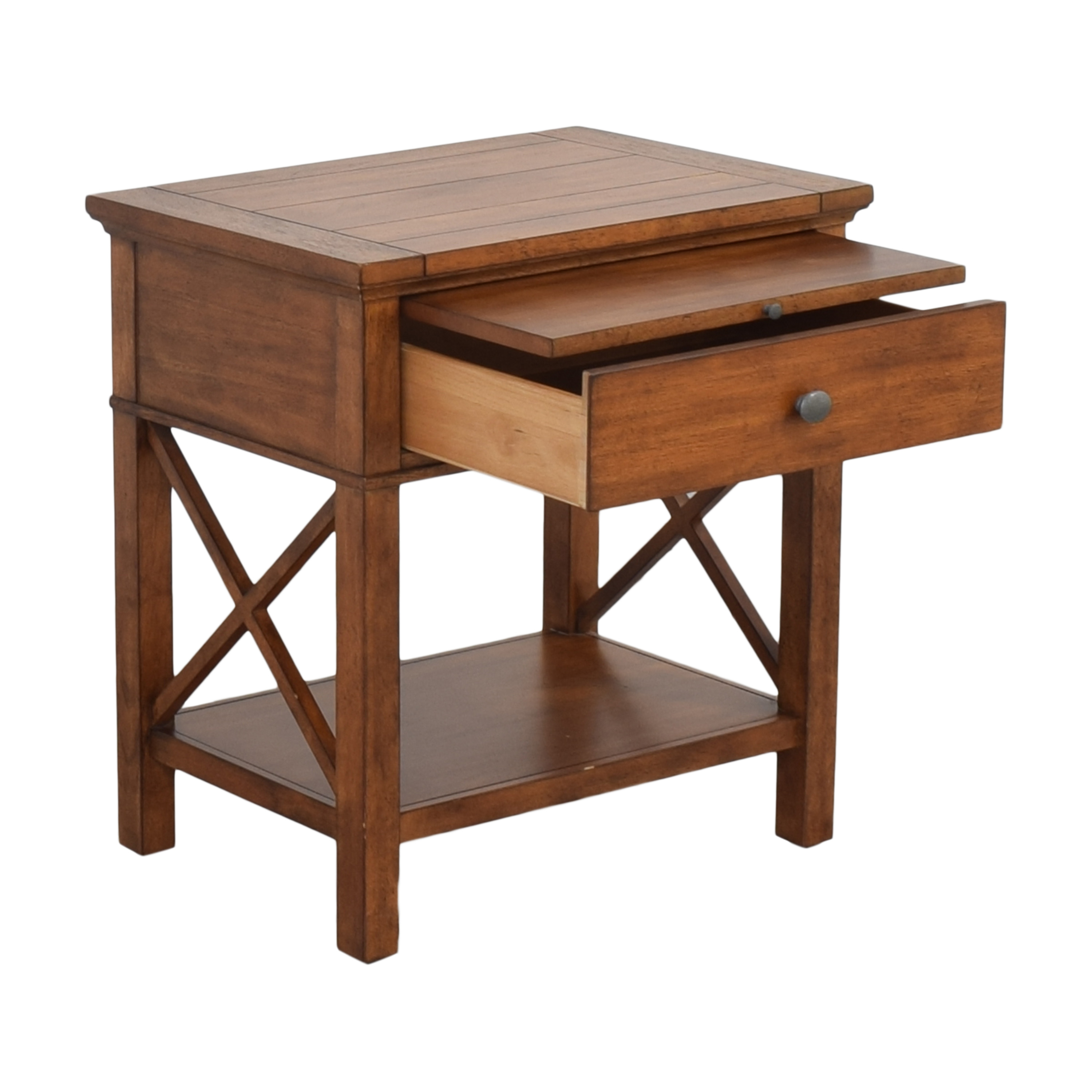 Ethan Allen Ethan Allen Alec X Night Table with Desk Extension coupon