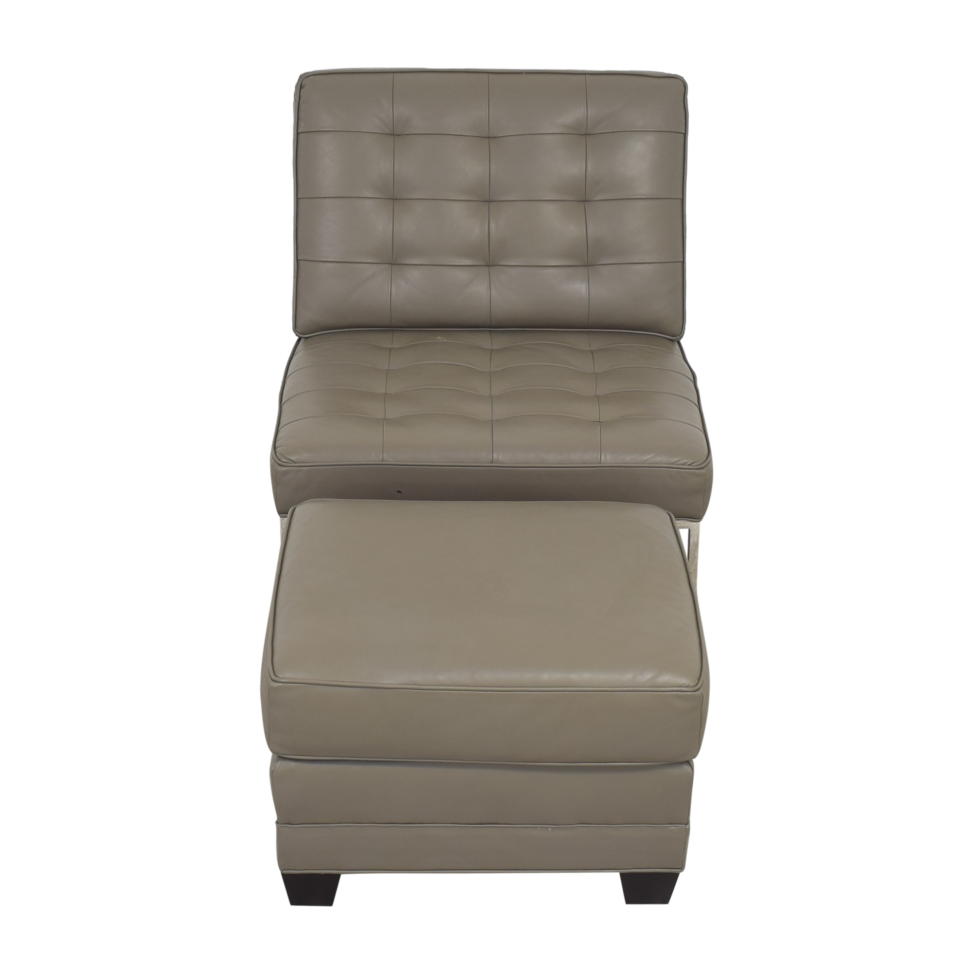 shop Mitchell Gold + Bob Williams Major Chair & Ottoman Mitchell Gold + Bob Williams Chairs