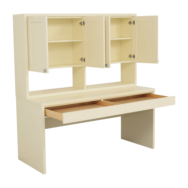 Urbangreen Writing Desk with Hutch Urbangreen Furniture