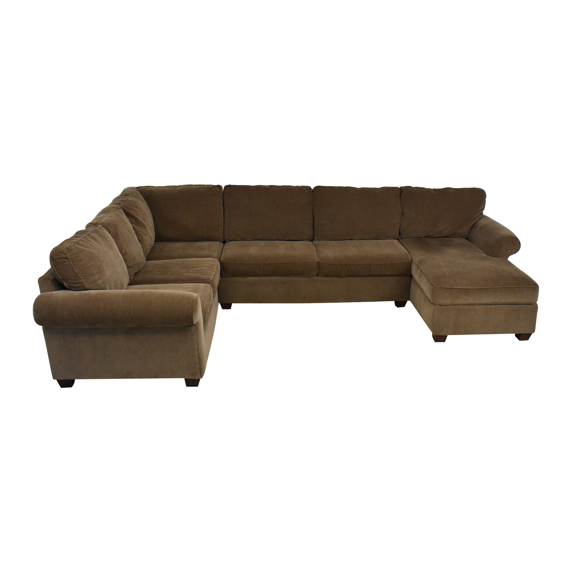 buy Raymour & Flanigan Sectional Sofa with Chaise Raymour & Flanigan
