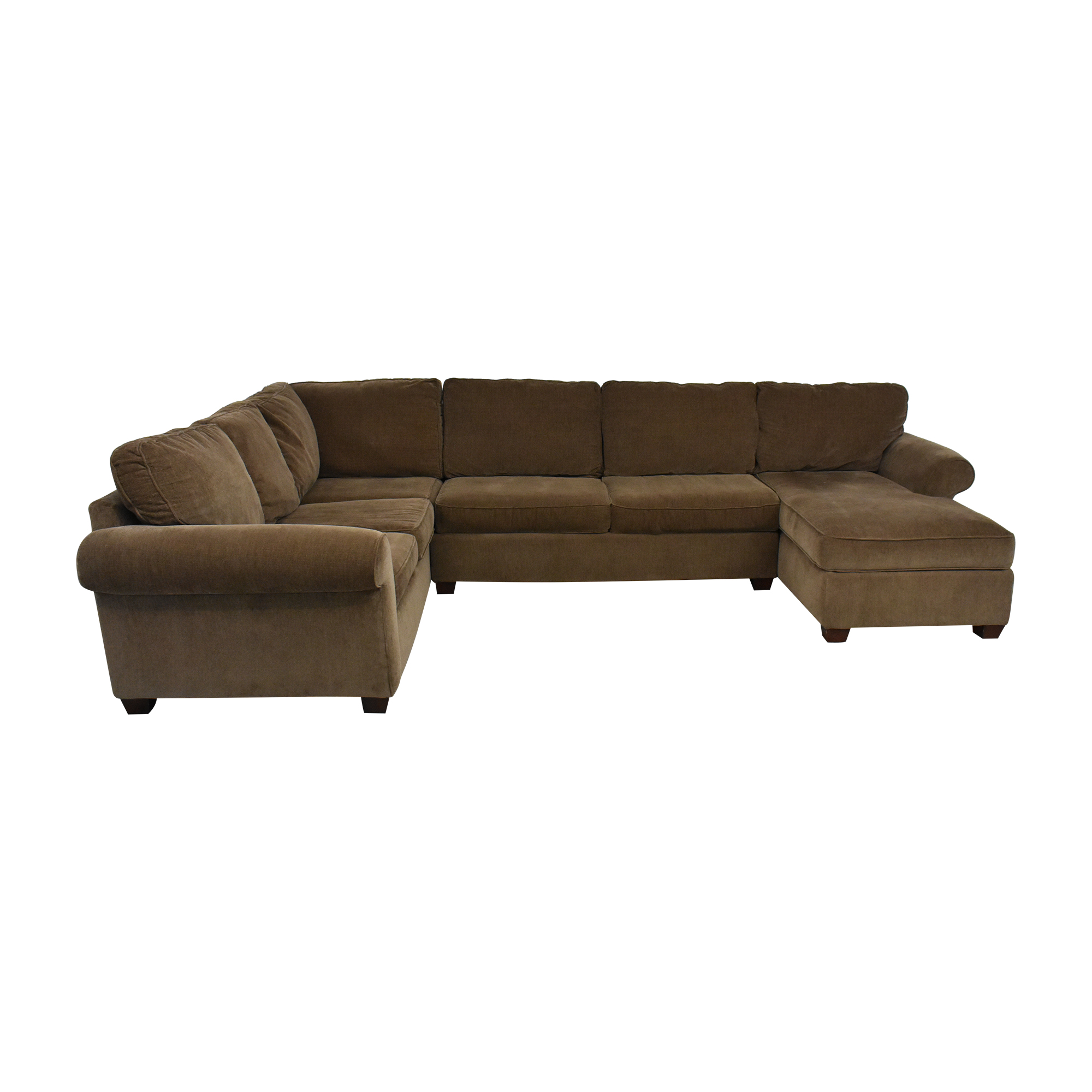 Raymour & Flanigan Raymour & Flanigan Sectional Sofa with Chaise price