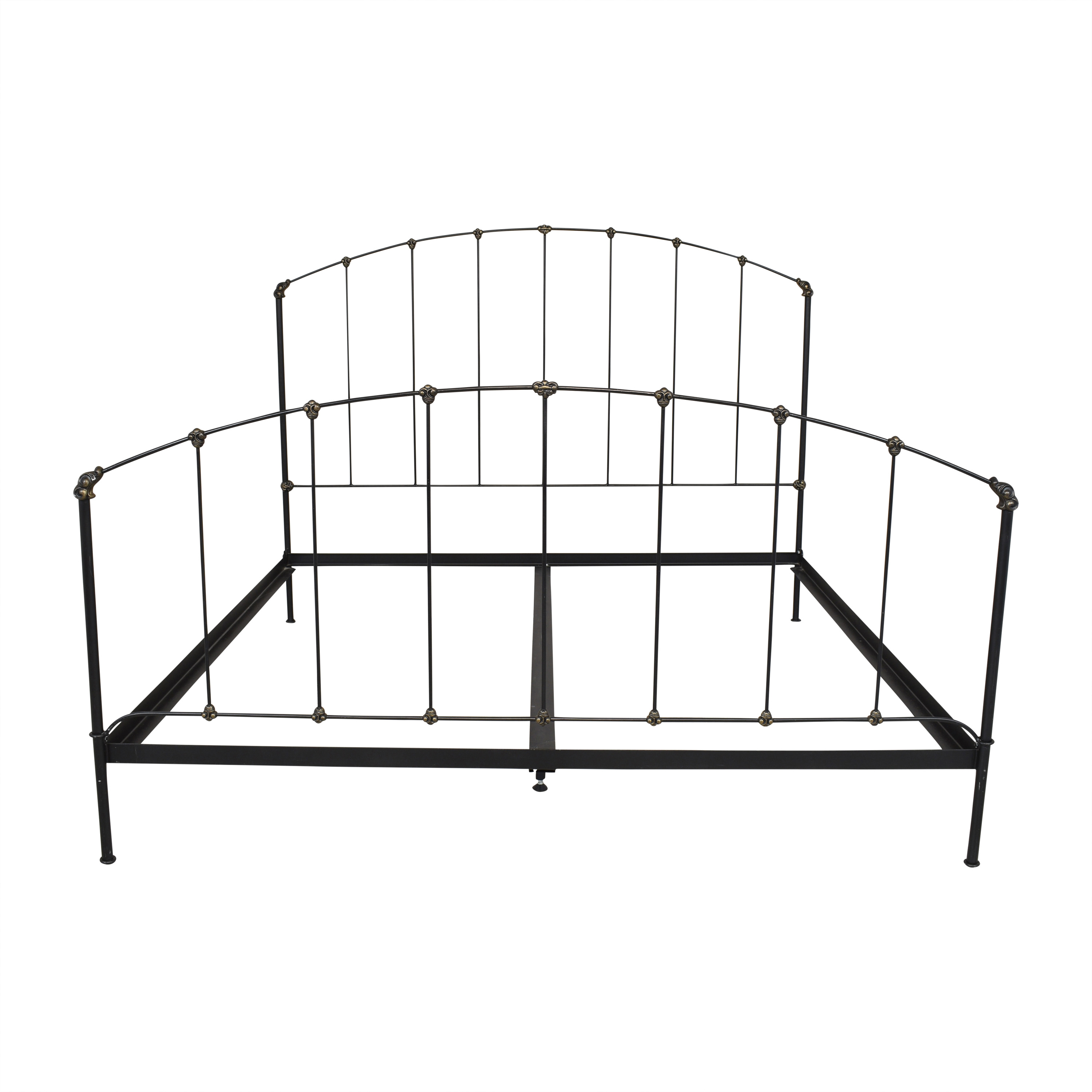 Open Frame King Bed