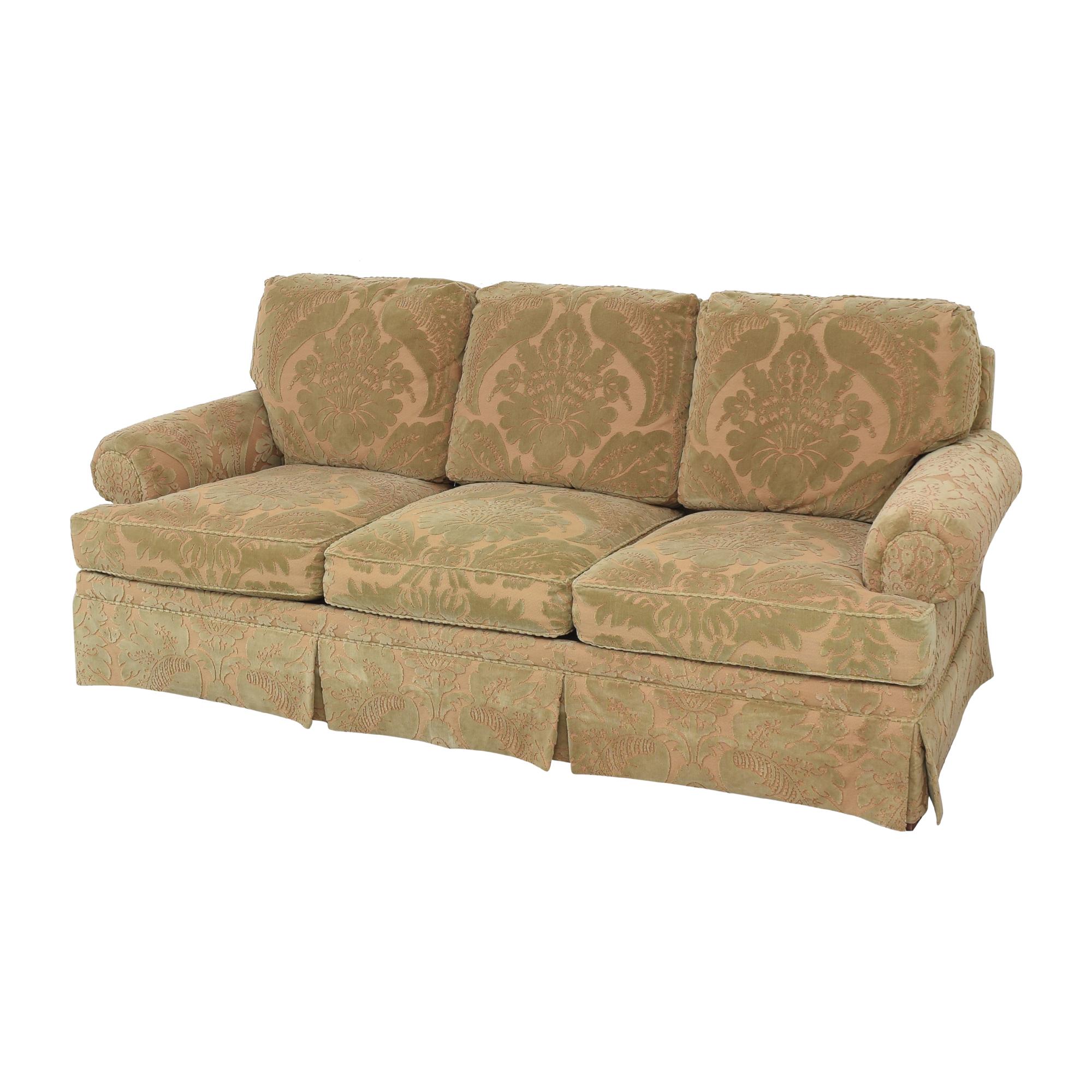 shop Hickory Chair Sovereign Collection Devon Sofa Hickory Chair Sofas