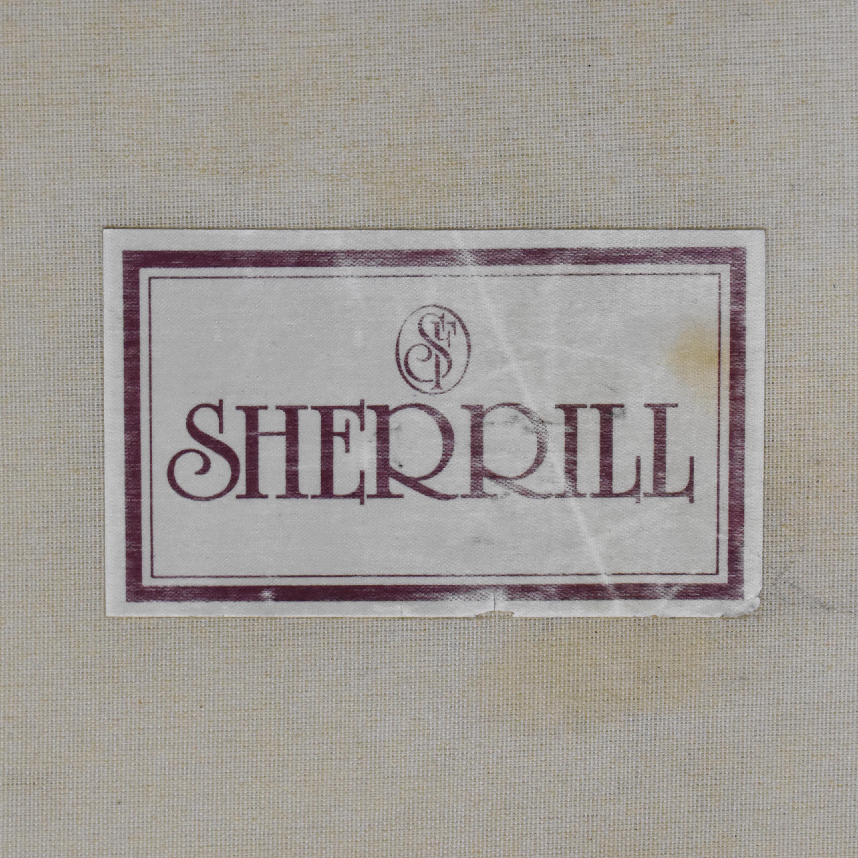 Sherrill Furniture Sherill Furniture Two Cushion Sofa nj