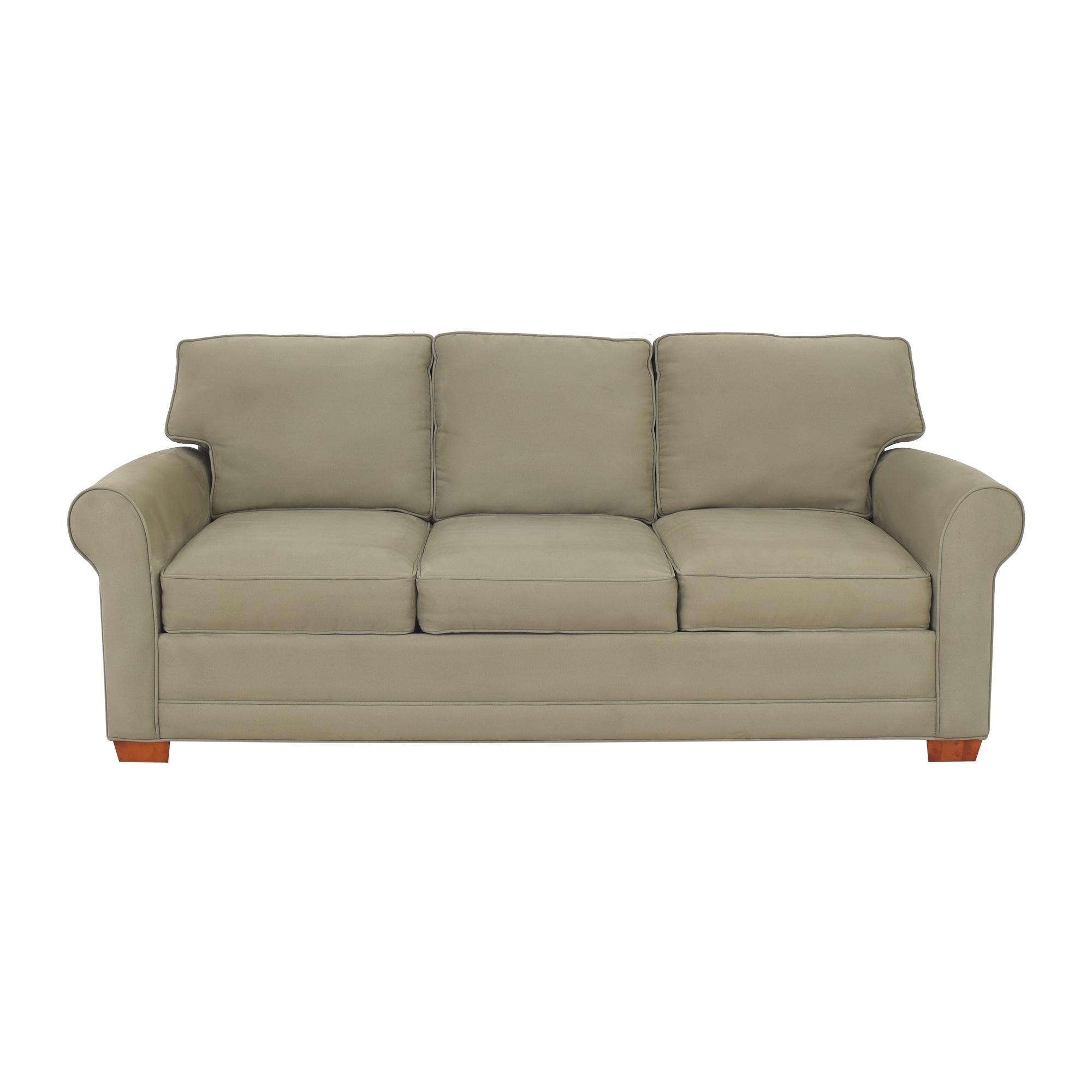 Raymour & Flanigan Raymour & Flanigan Roll Arm Sofa Sofas