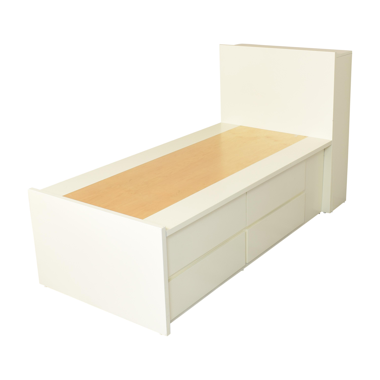 70 Off Urbangreen Furniture Urbangreen Furniture Twin Platform Storage Bed Beds