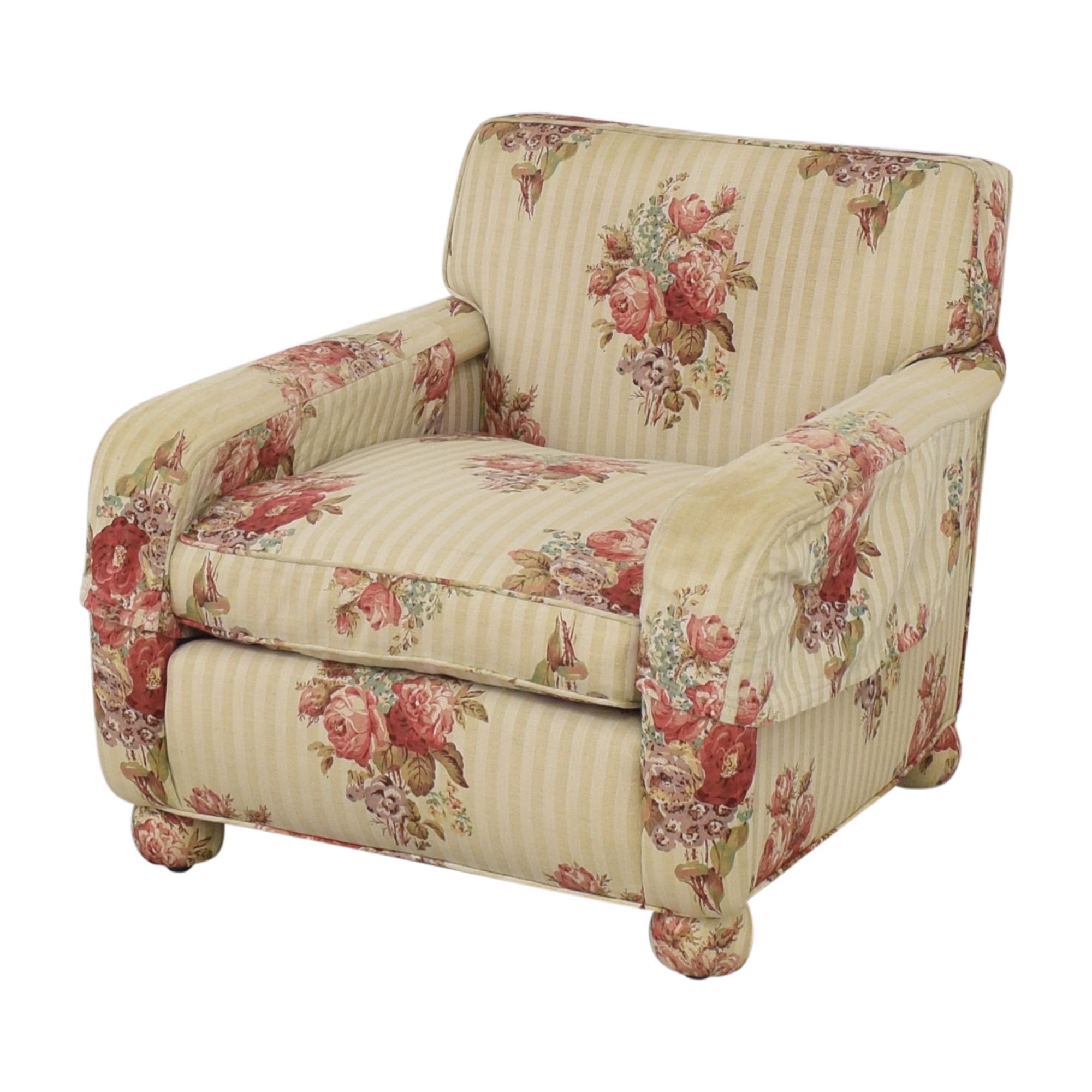 shop Hickory Chair Upholstered Club Chair Hickory Chair Chairs