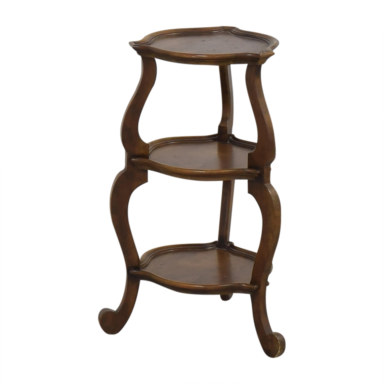 Baker Furniture Baker Furniture Tiered Side Table used
