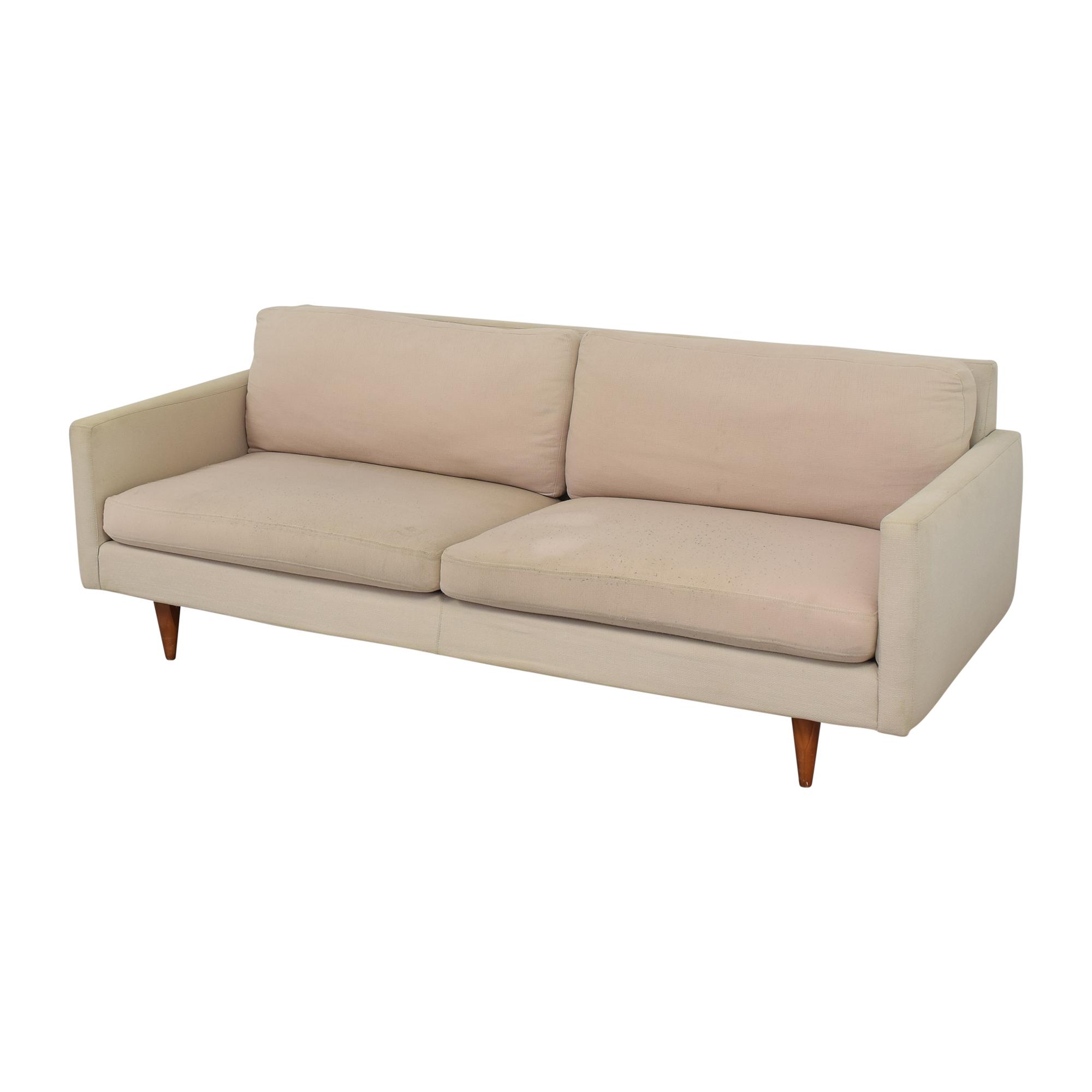 Room & Board Room & Board Jasper Mid Century Sofa beige
