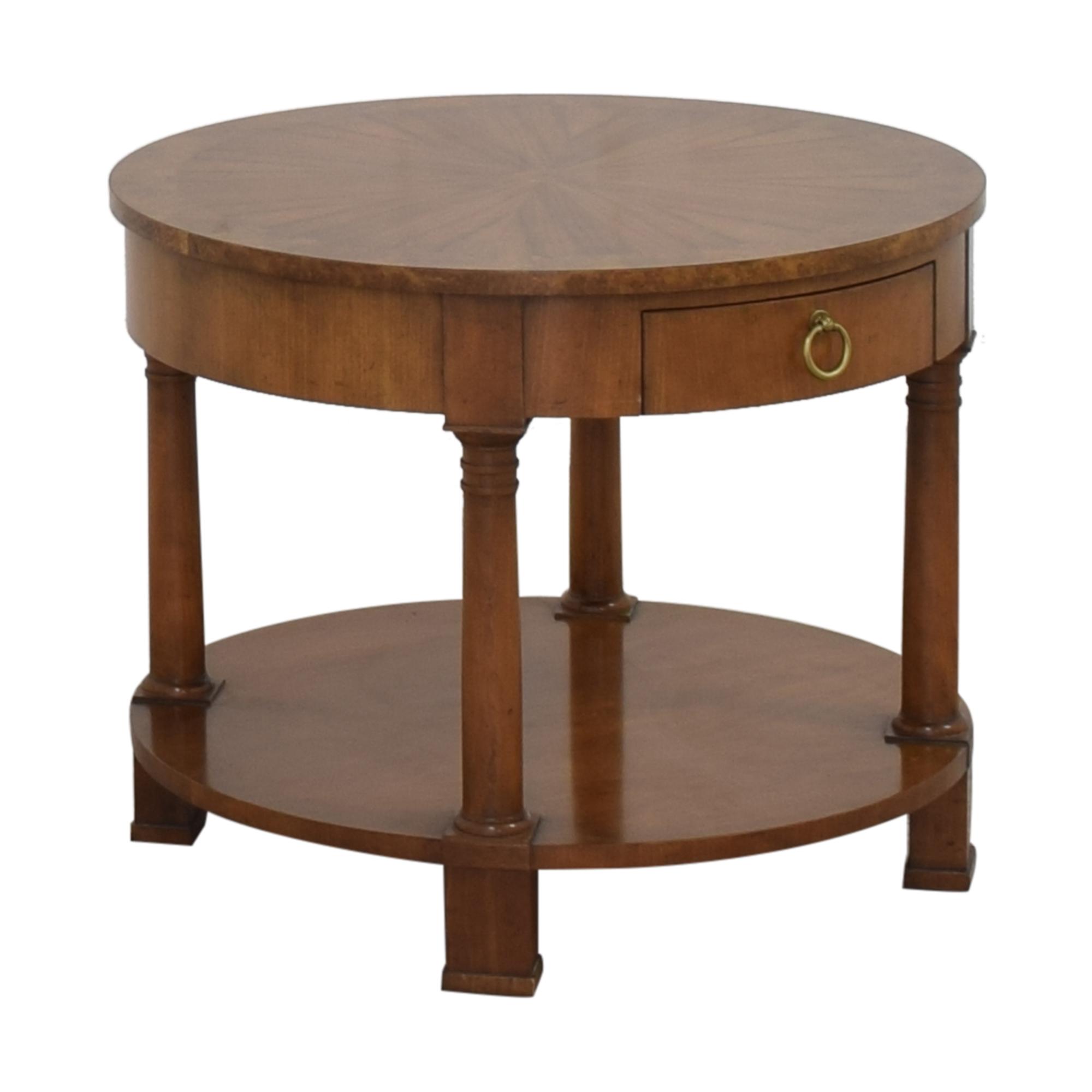 Baker Furniture Baker Furniture Round End Table nj