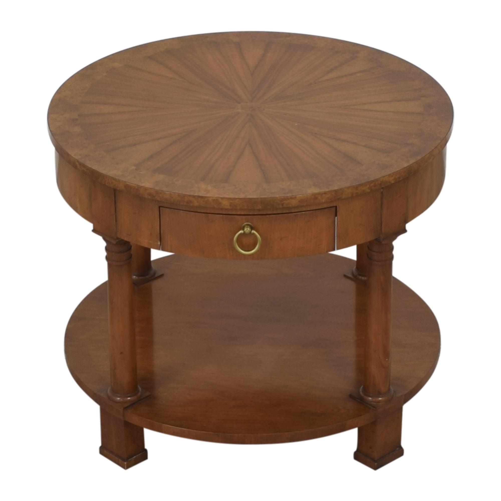 Baker Furniture Baker Furniture Round End Table End Tables