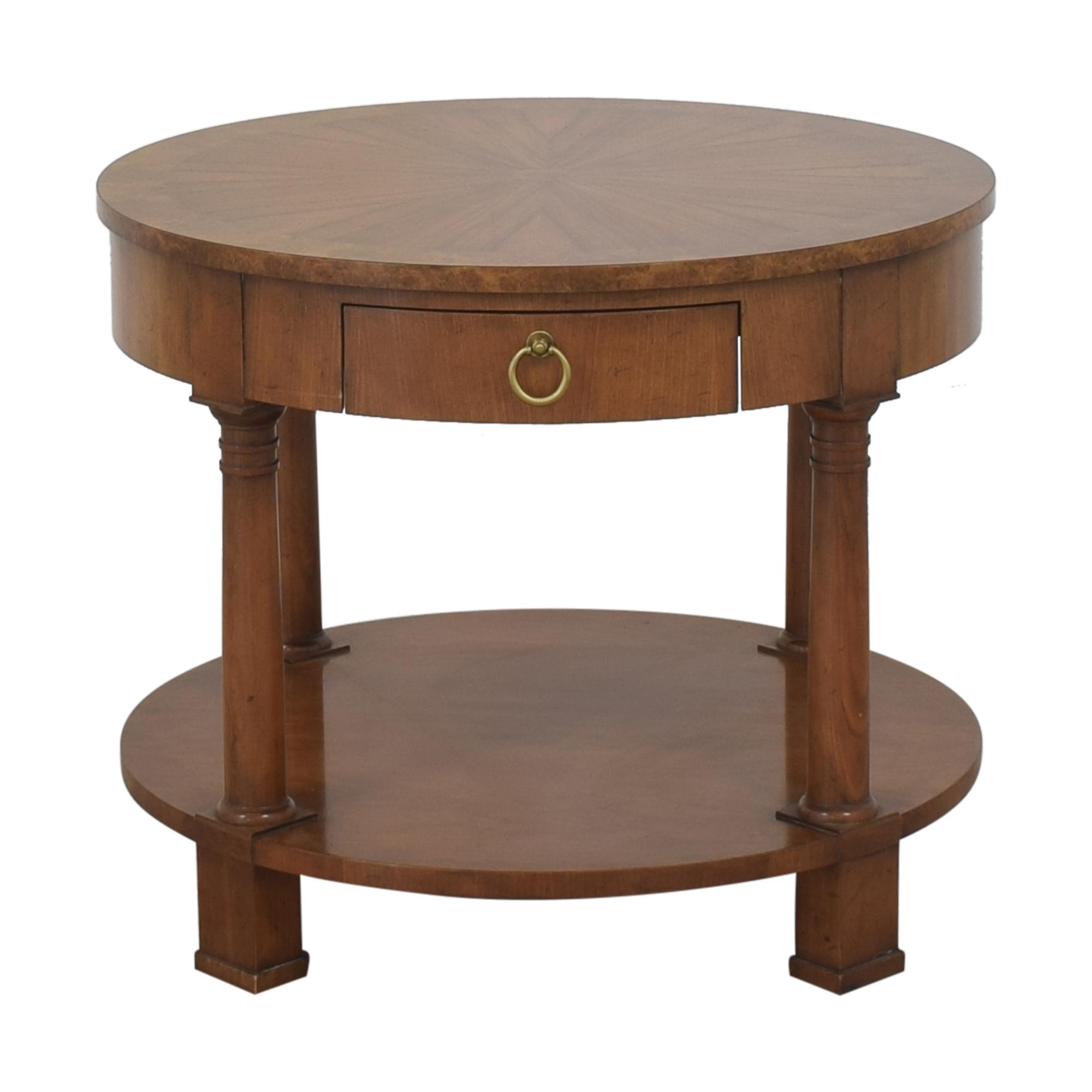 buy Baker Furniture Round End Table Baker Furniture