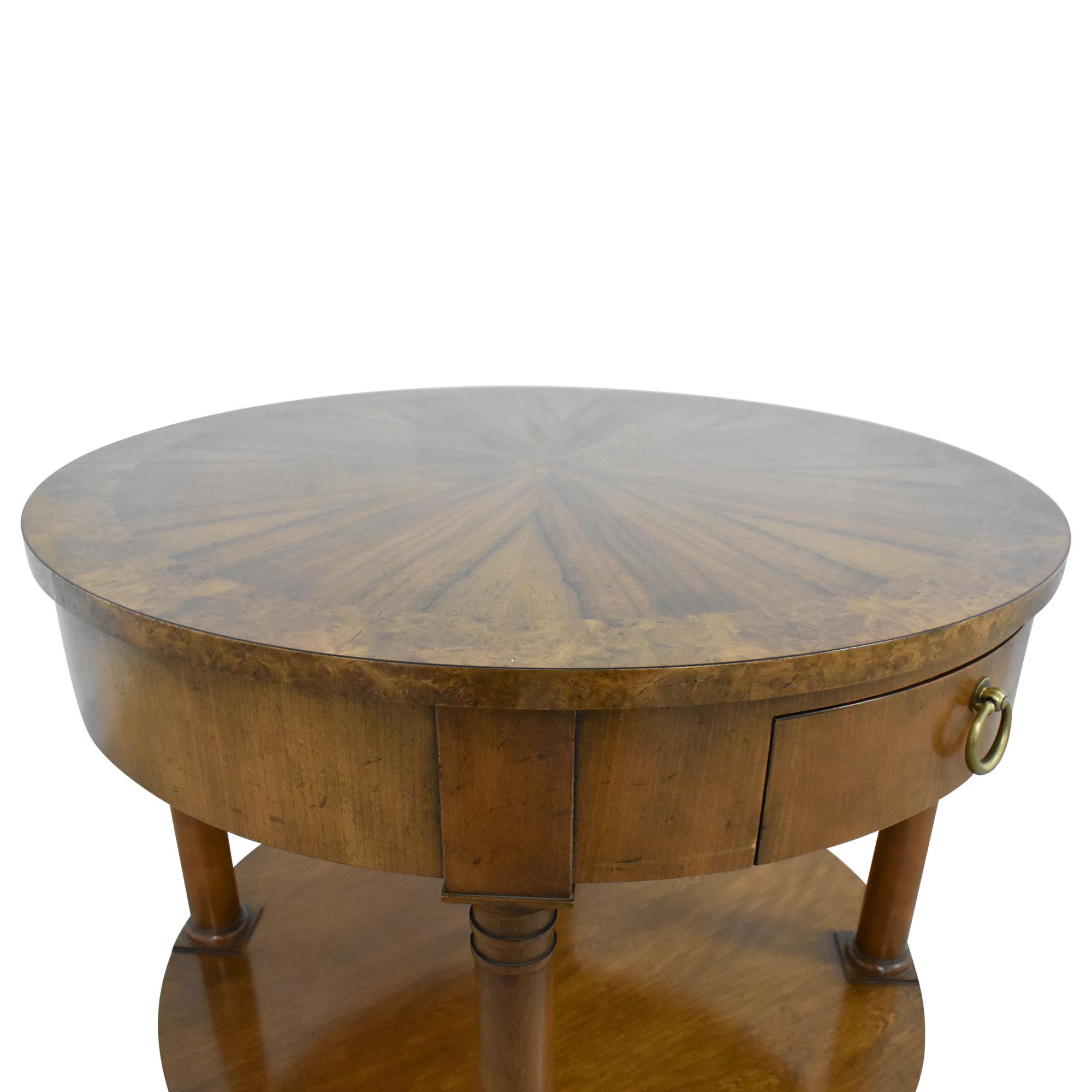buy Baker Furniture Round End Table Baker Furniture Tables