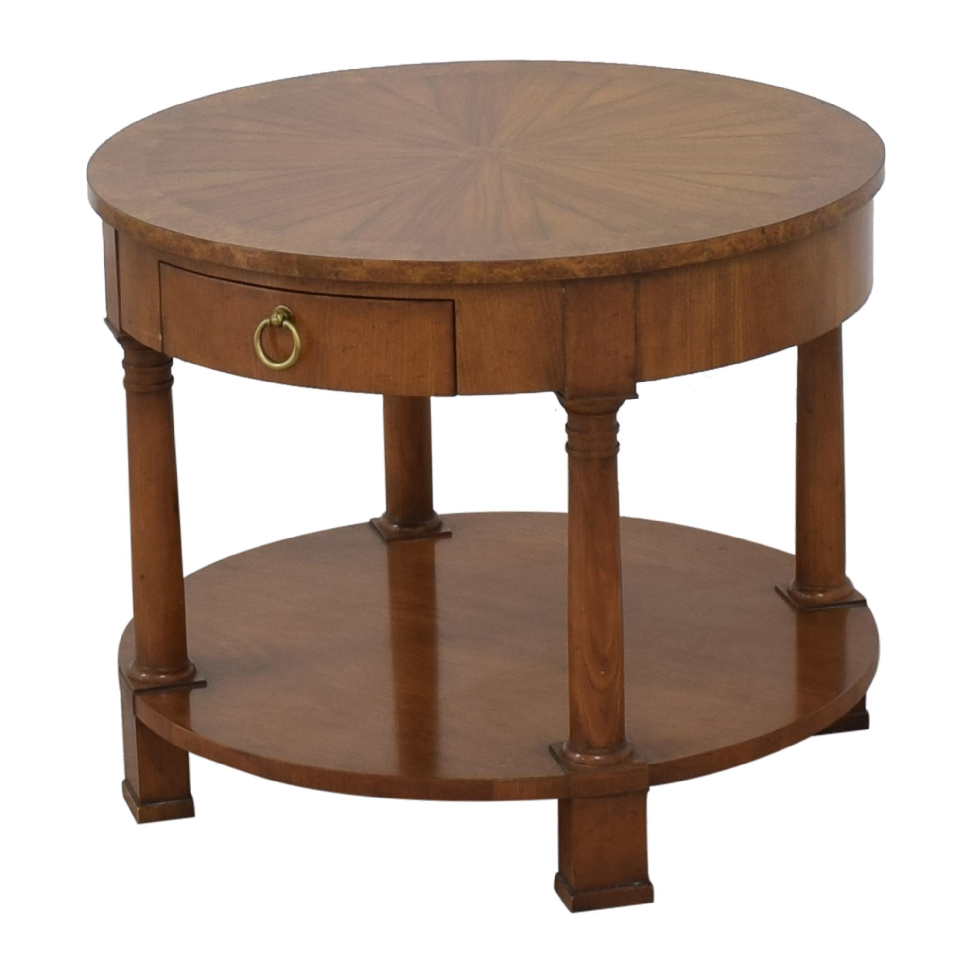 shop Baker Furniture Round End Table Baker Furniture