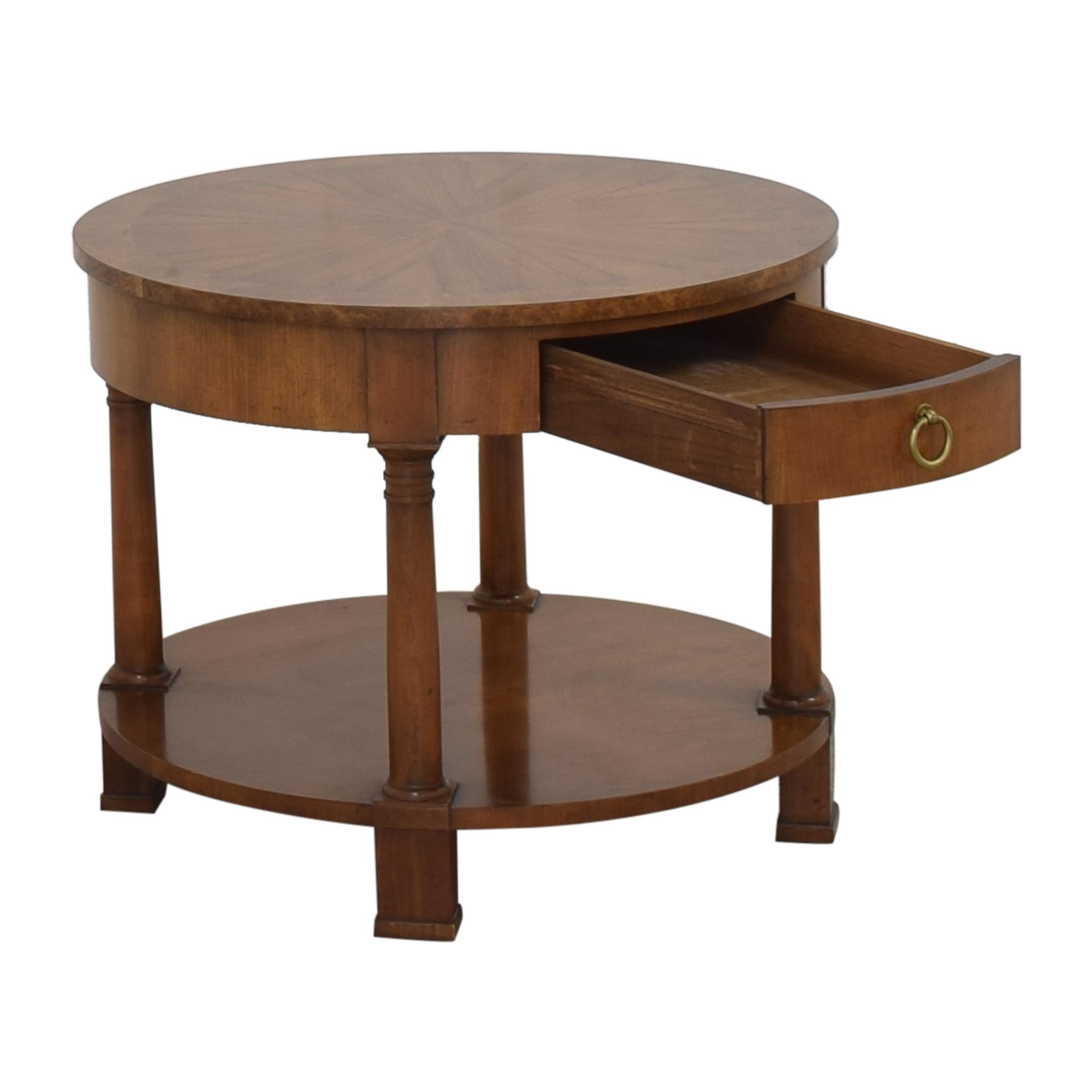 Baker Furniture Baker Furniture Round End Table ct