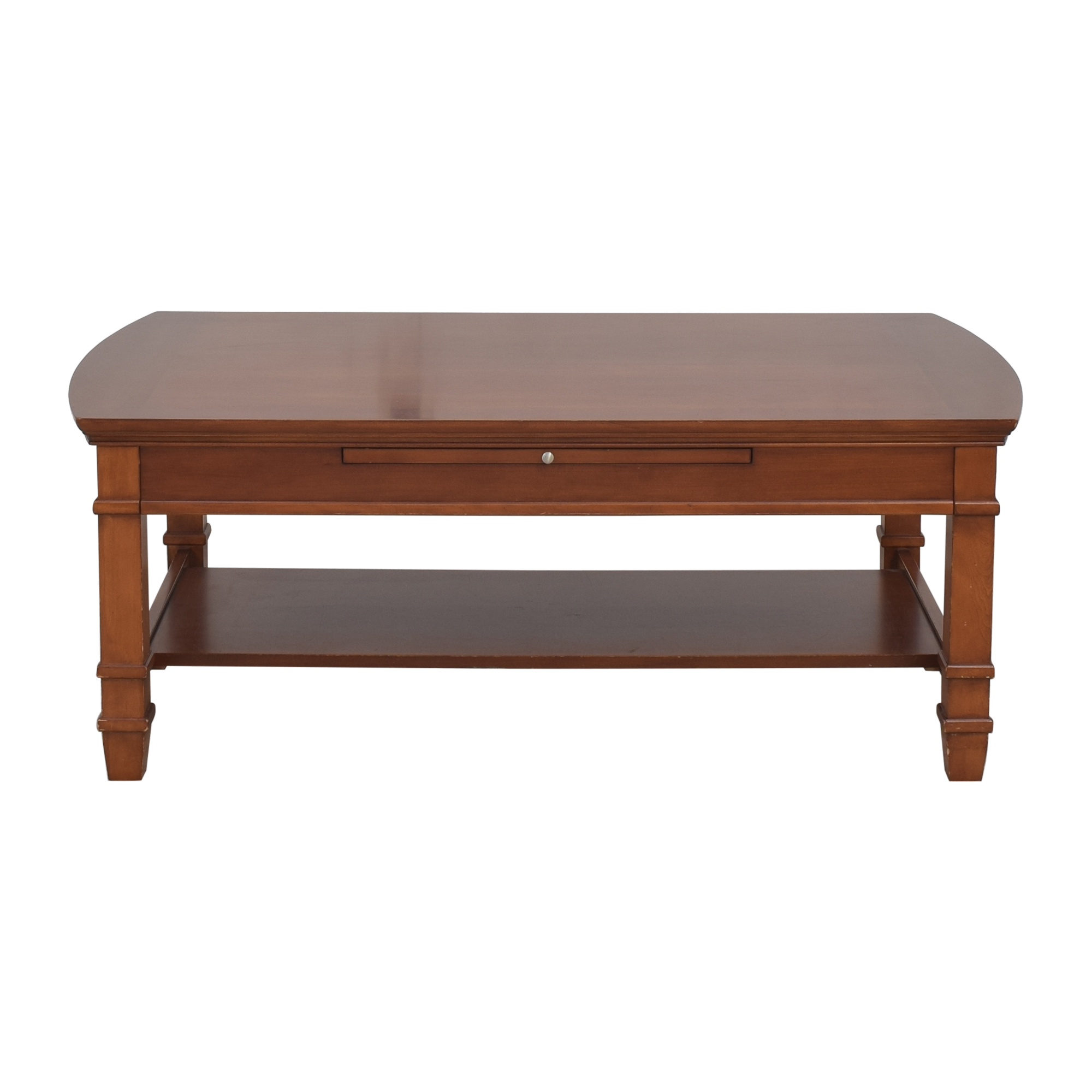 shop Thomasville Bridges 2.0 Rectangular Coffee Table with Extension Thomasville Tables