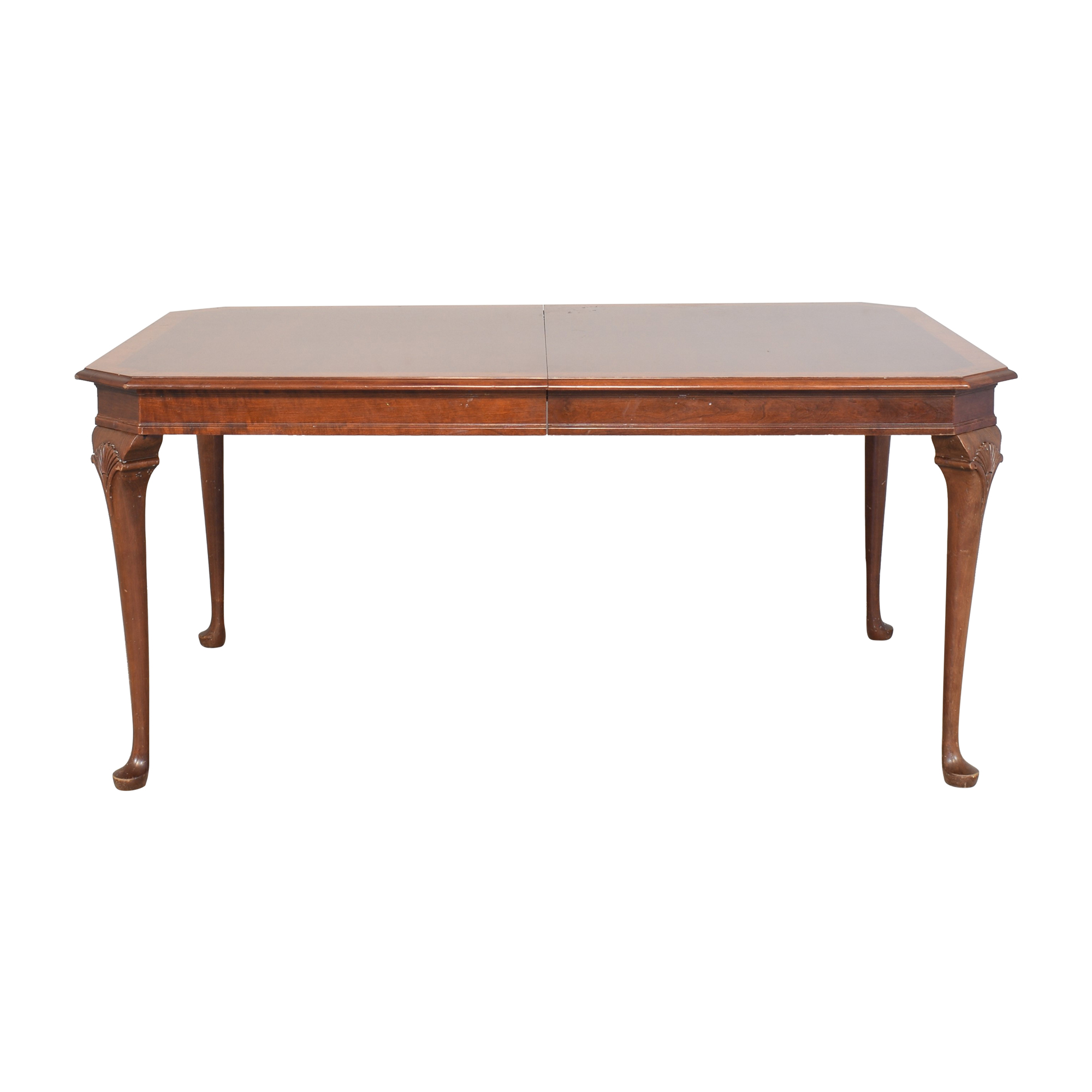 shop Pennsylvania House Queen Anne Dining Table Pennsylvania House Dinner Tables